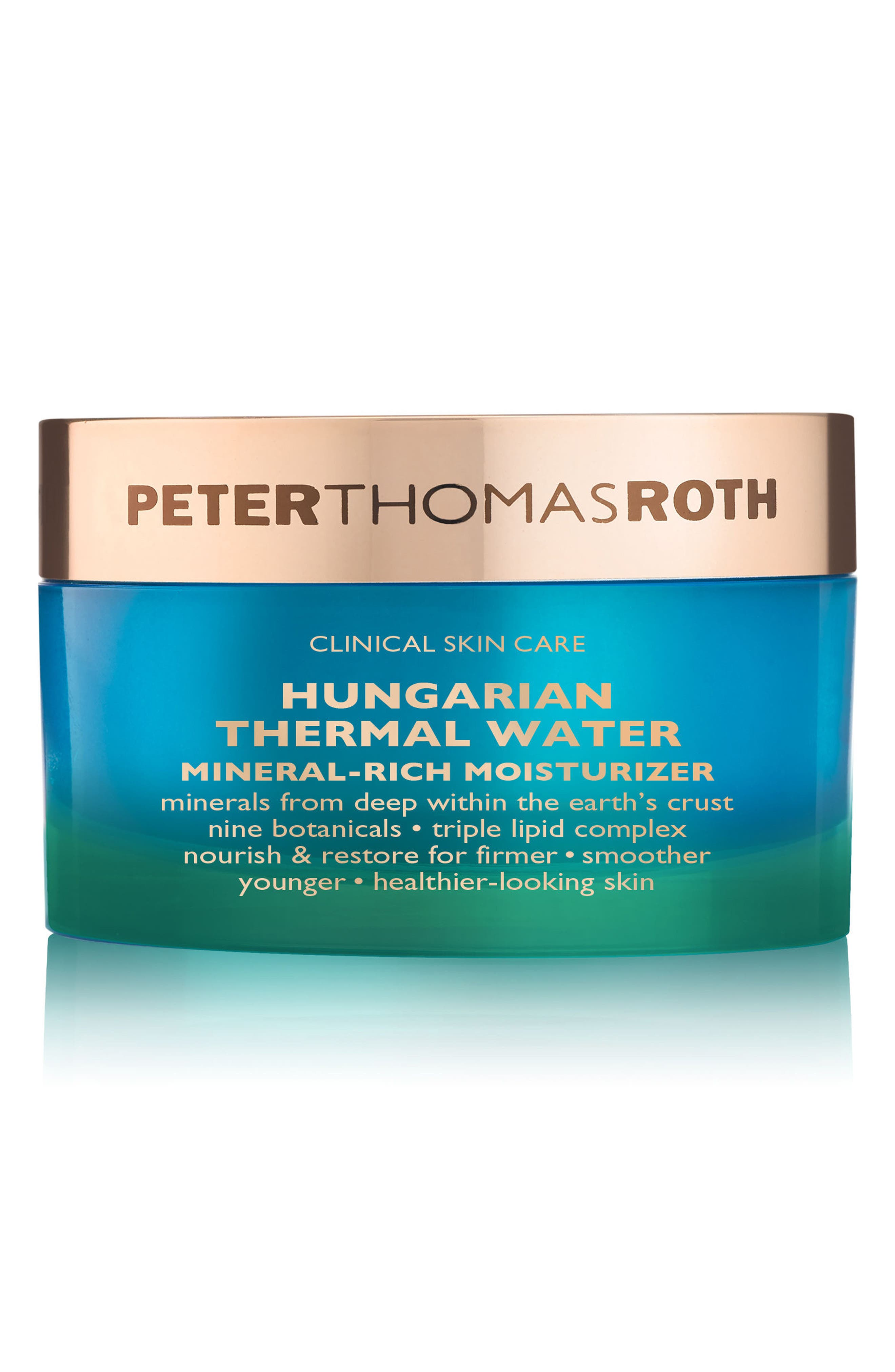Hungarian Thermal Water Mineral-Rich Moisturizer,                             Main thumbnail 1, color,                             No Color
