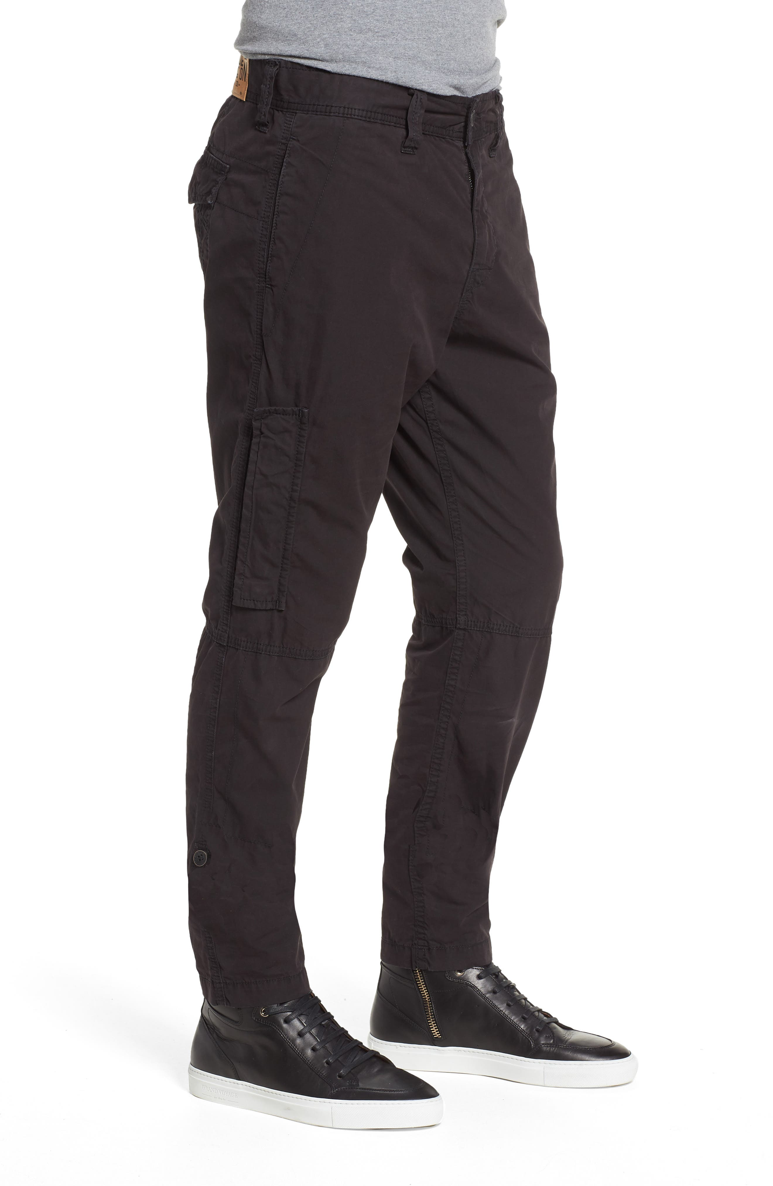 Officer Field Pants,                             Alternate thumbnail 3, color,                             Black