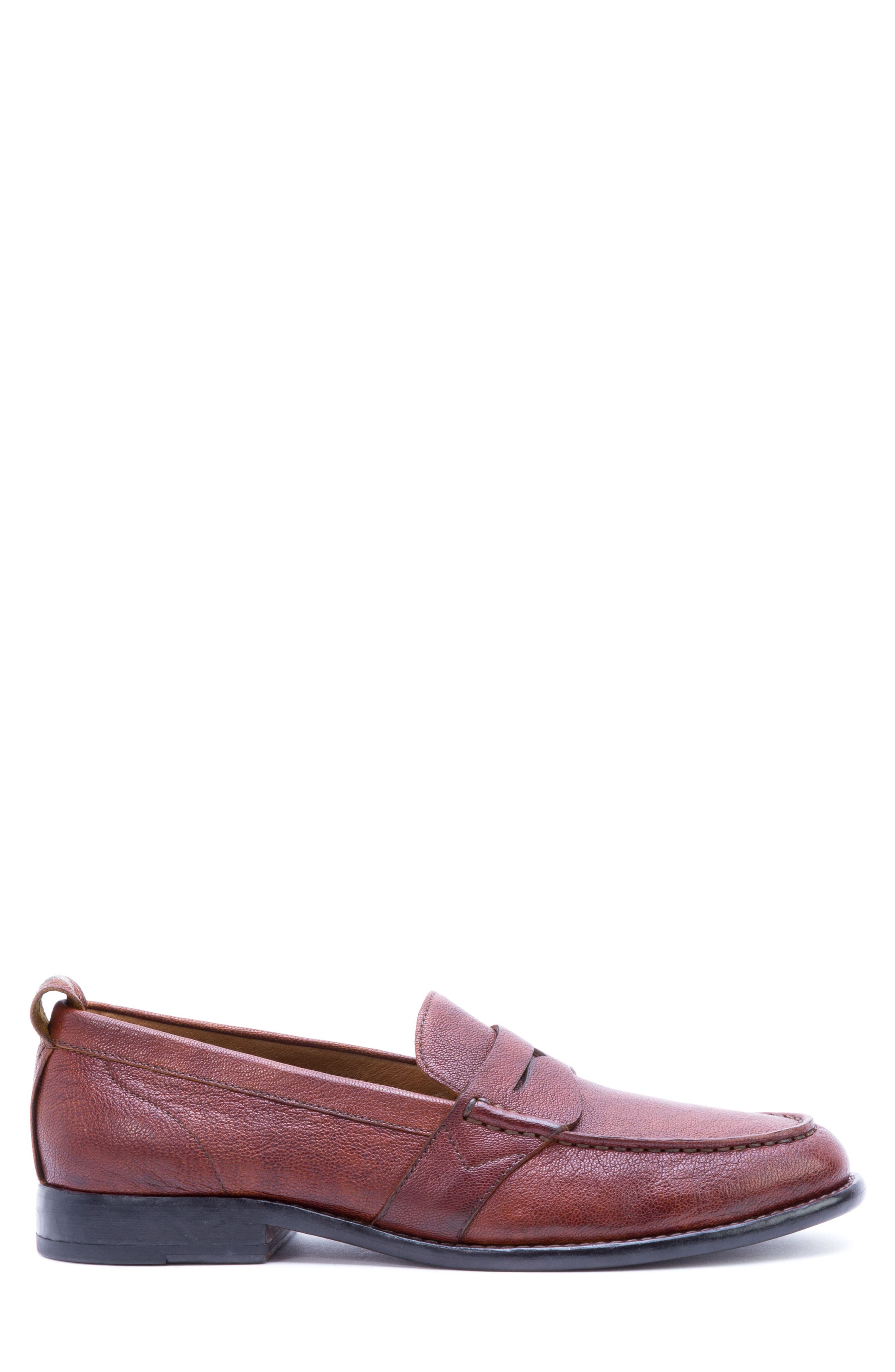 Torres Penny Loafer,                             Alternate thumbnail 3, color,                             Cognac Leather