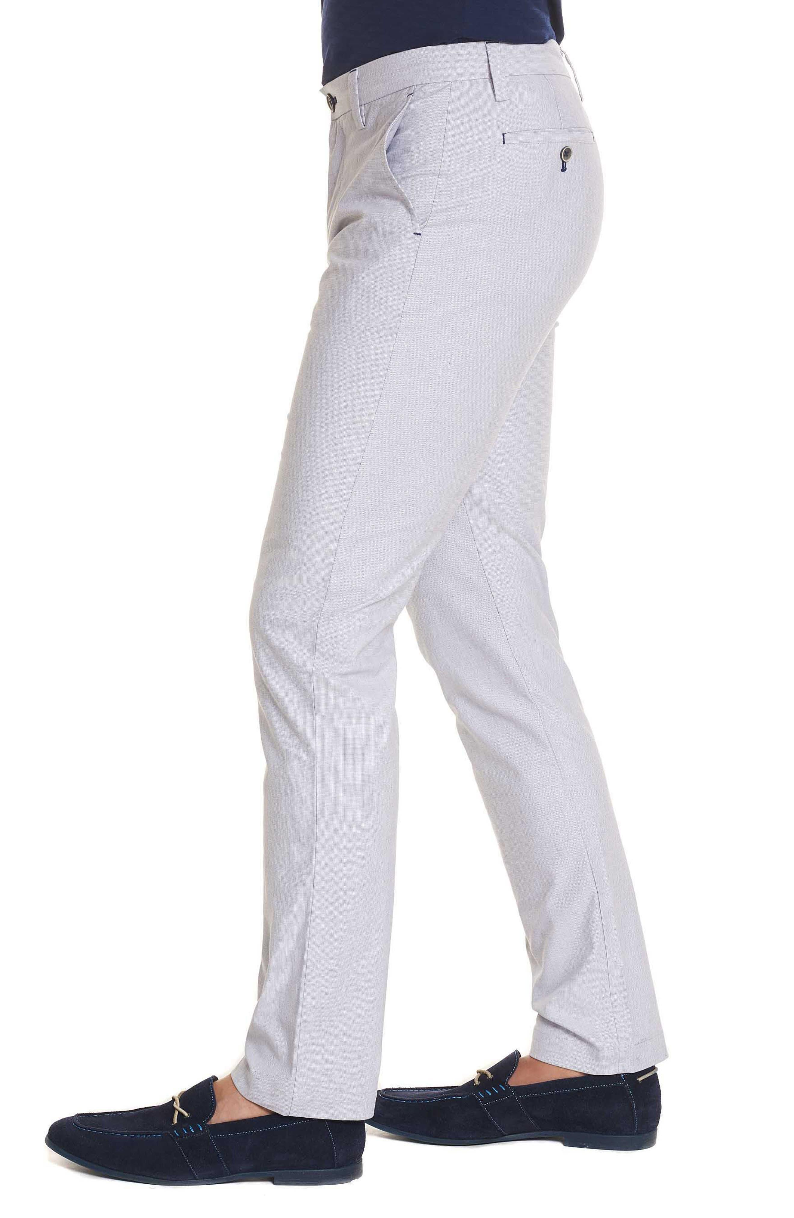 Gerardo Tailored Fit Pants,                             Alternate thumbnail 3, color,                             White