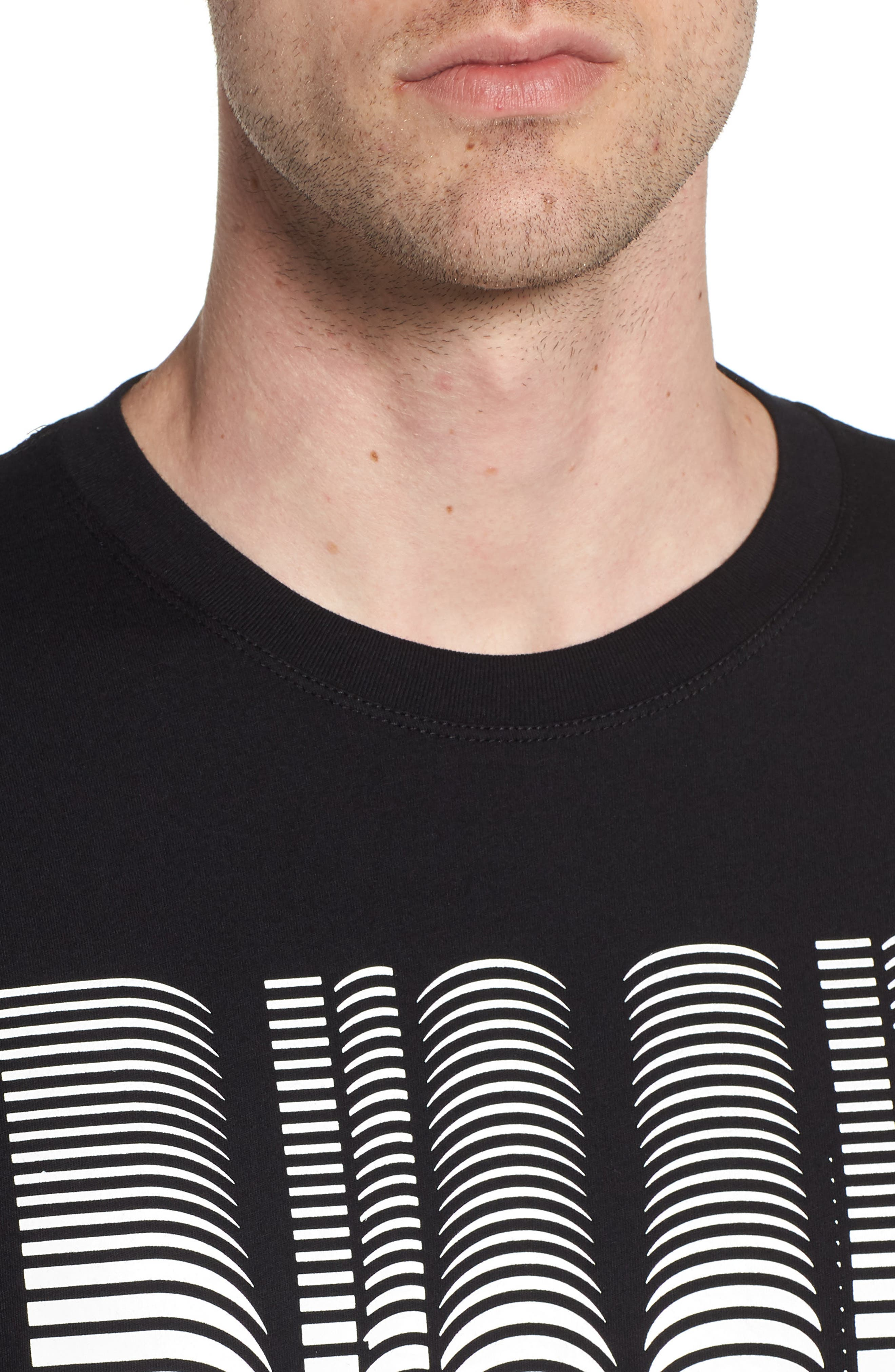 T-Just-SE T-Shirt,                             Alternate thumbnail 4, color,                             Black