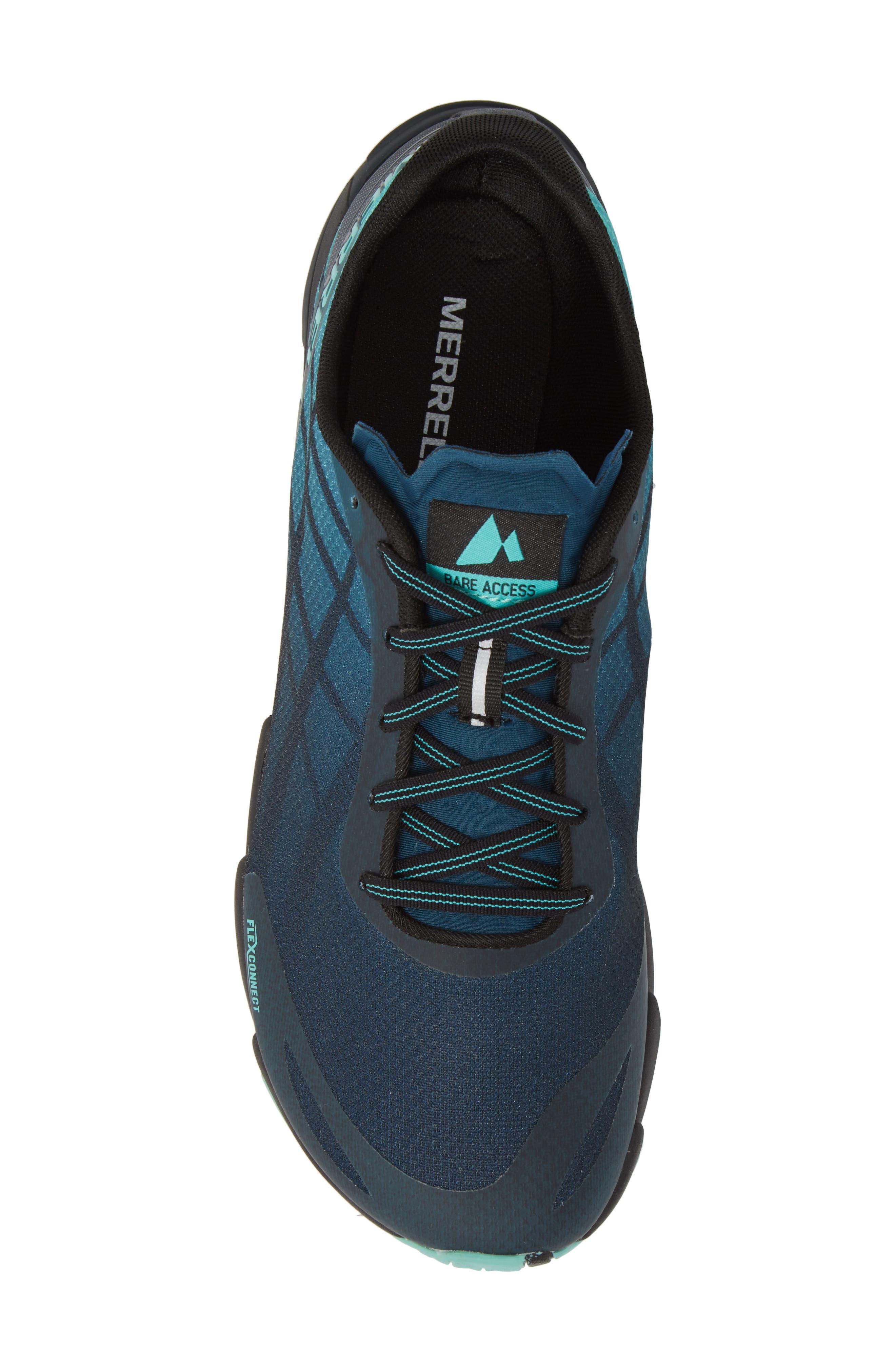 Bare Access Flex Running Shoe,                             Alternate thumbnail 5, color,                             Legion Blue