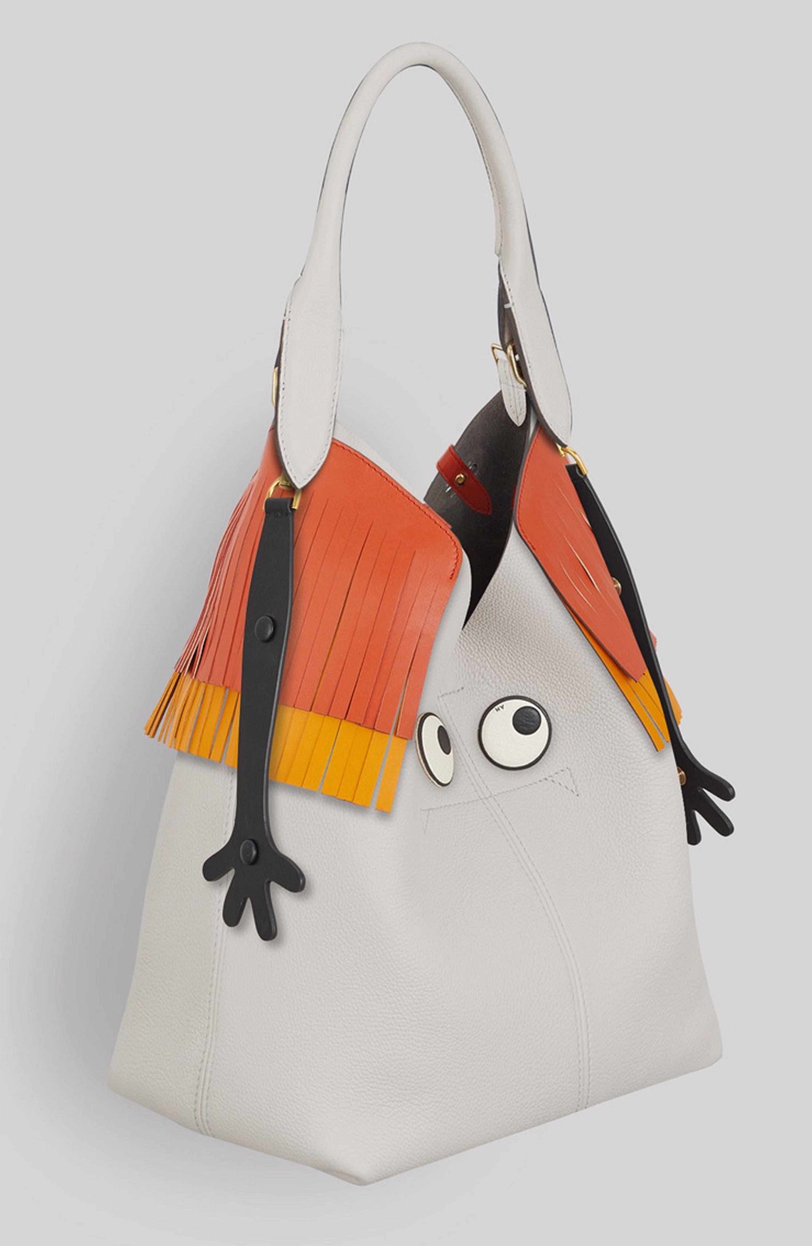 Alternate Image 2  - Anya Hindmarch Build a Bag Tubular Leather Handle