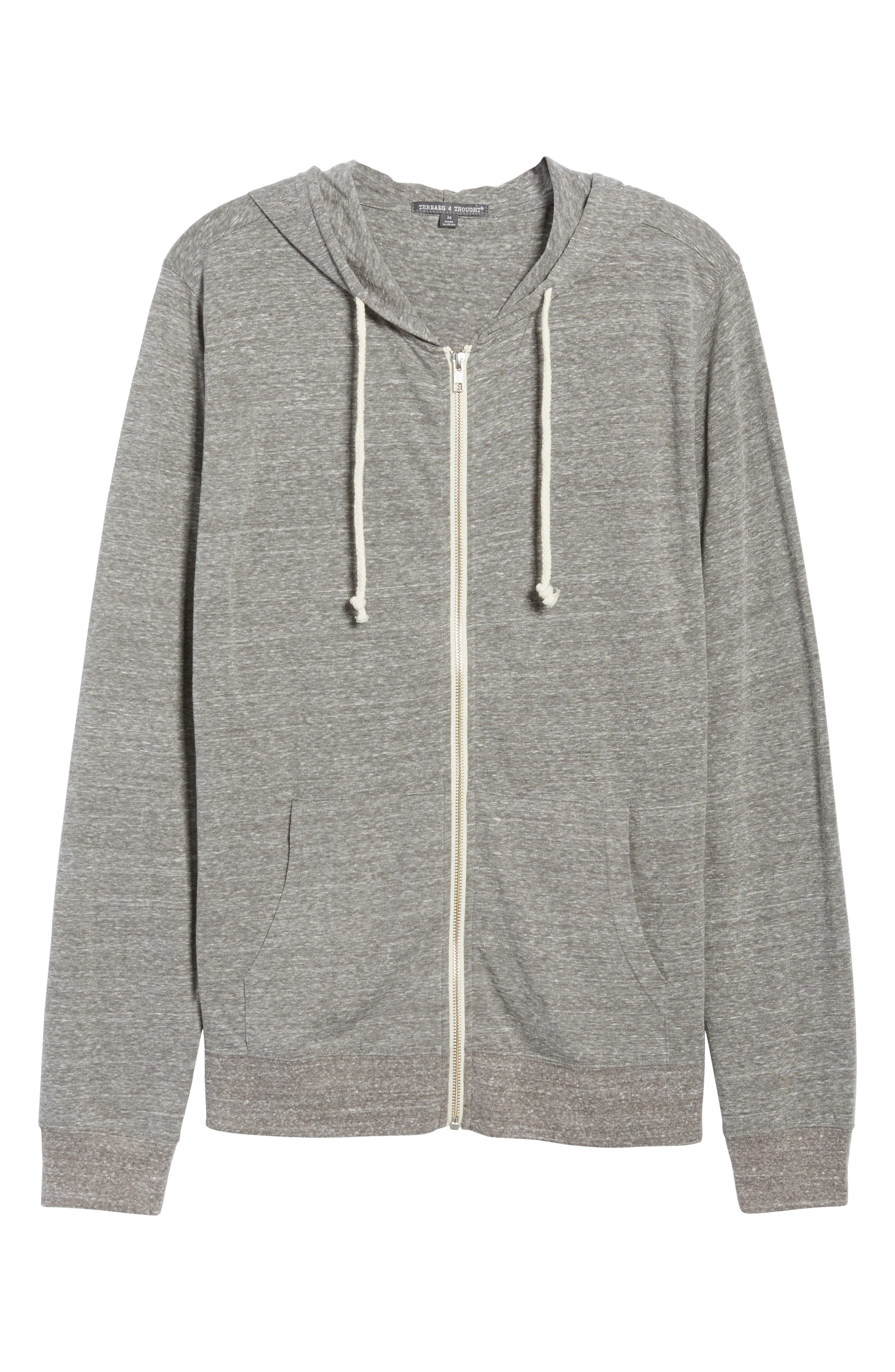Alternate Image 1 Selected - Threads for Thought Giulio Zip Hoodie