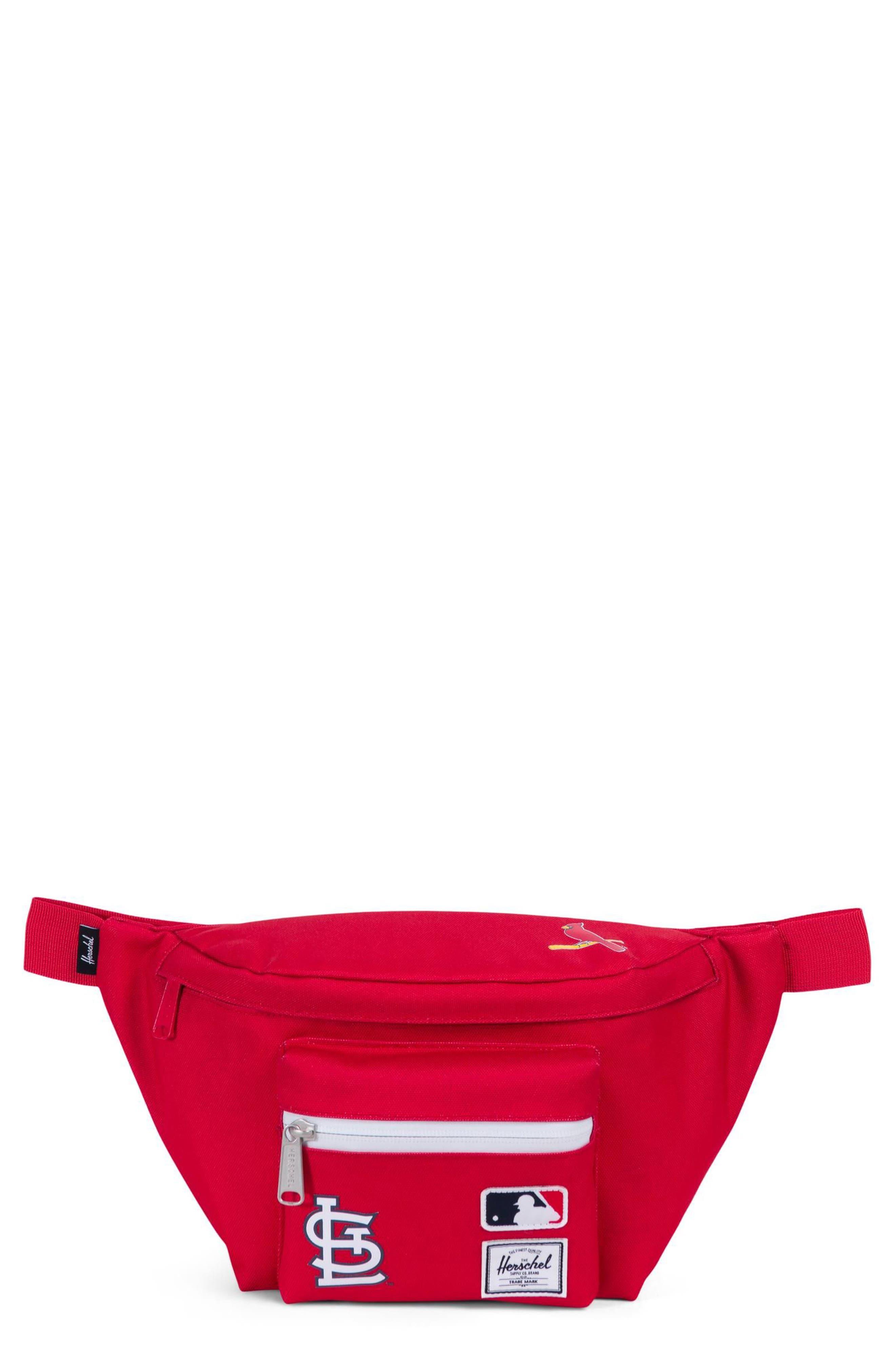MLB National League Hip Pack,                         Main,                         color, St Louis Cardinals