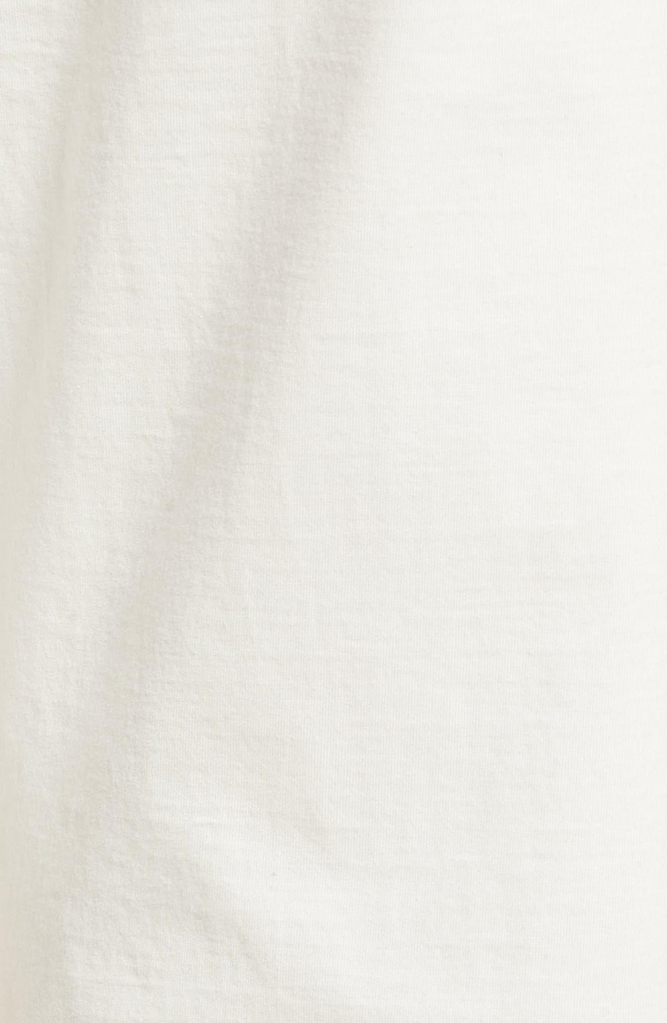 Full Surplus Jersey Pants,                             Alternate thumbnail 6, color,                             White