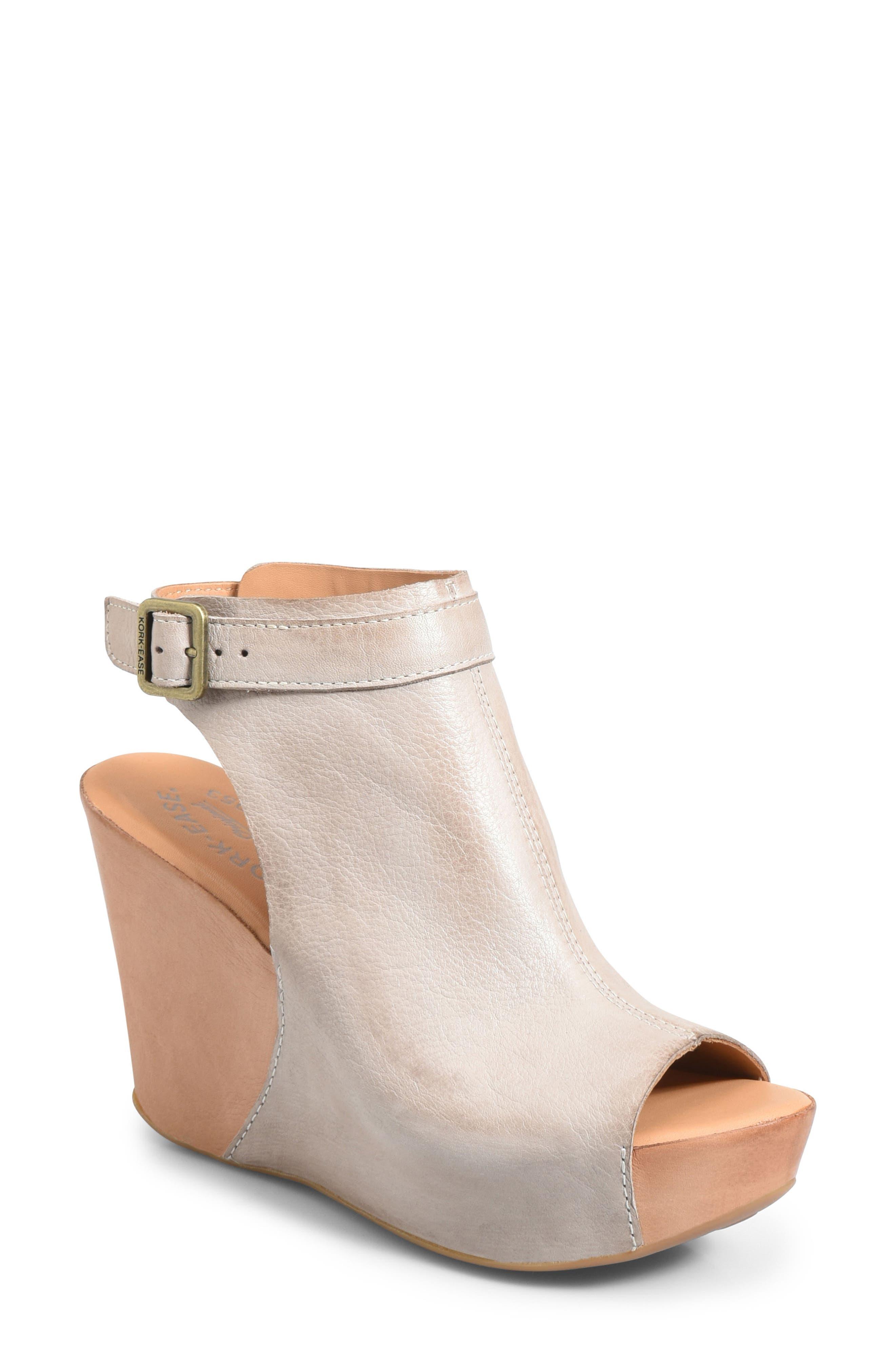 Womens Heels Exclusive 8467569 Kork Ease Berit Wedge 9 Black