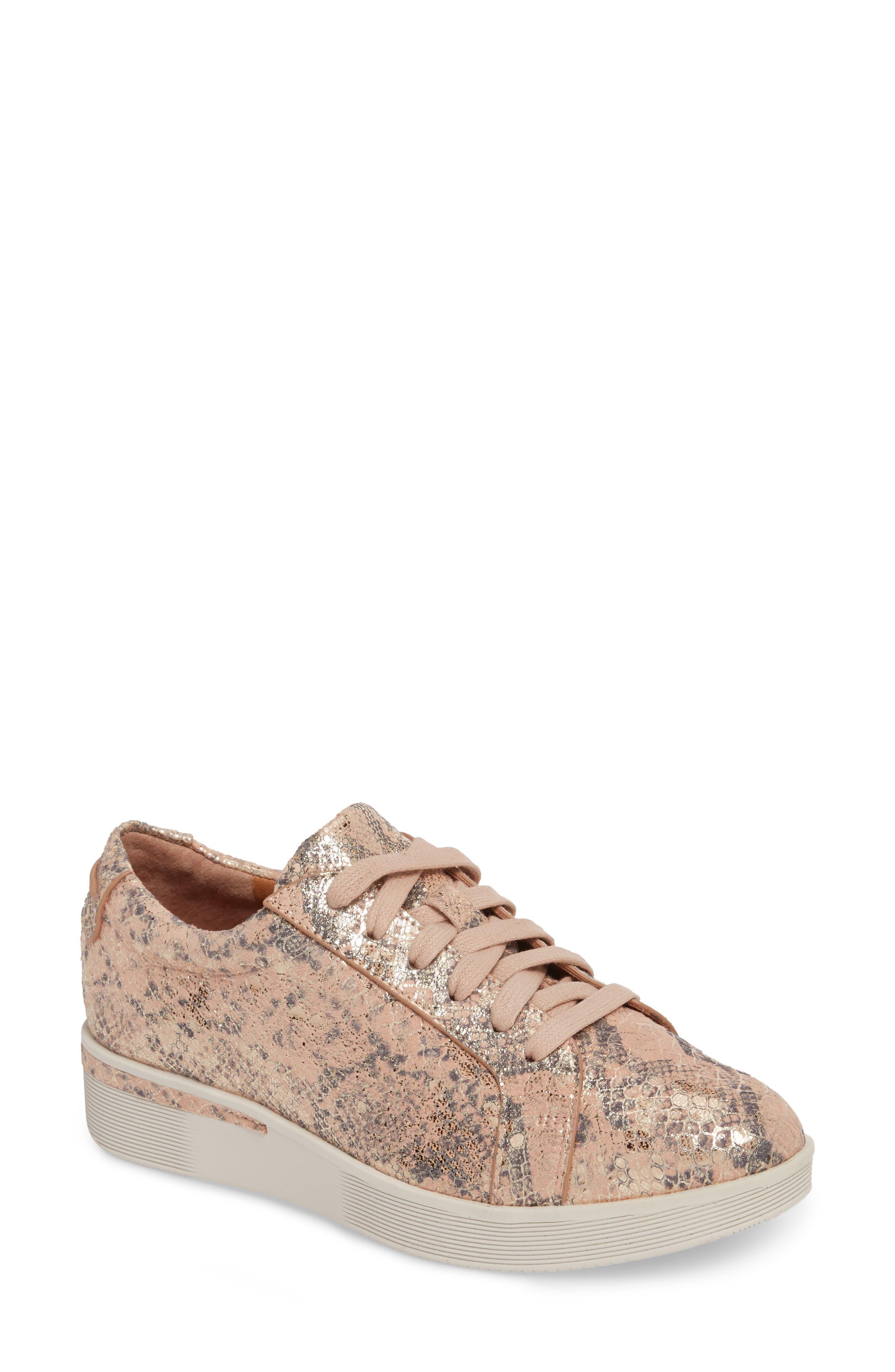 Alternate Image 1 Selected - Gentle Souls Haddie Low Platform Sneaker (Women)