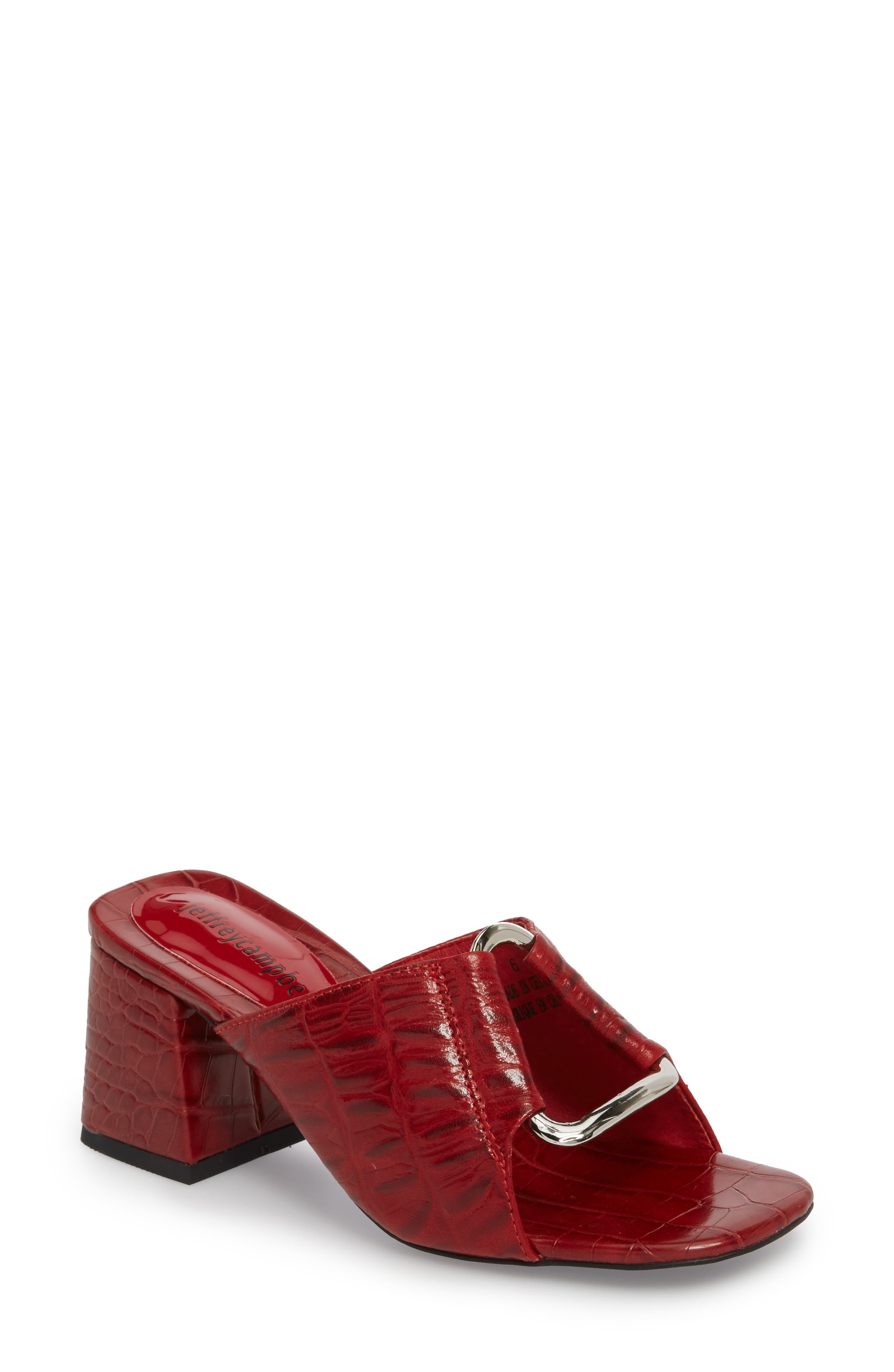 Alternate Image 1 Selected - Jeffrey Campbell Milagro Flared Heel Sandal (Women)