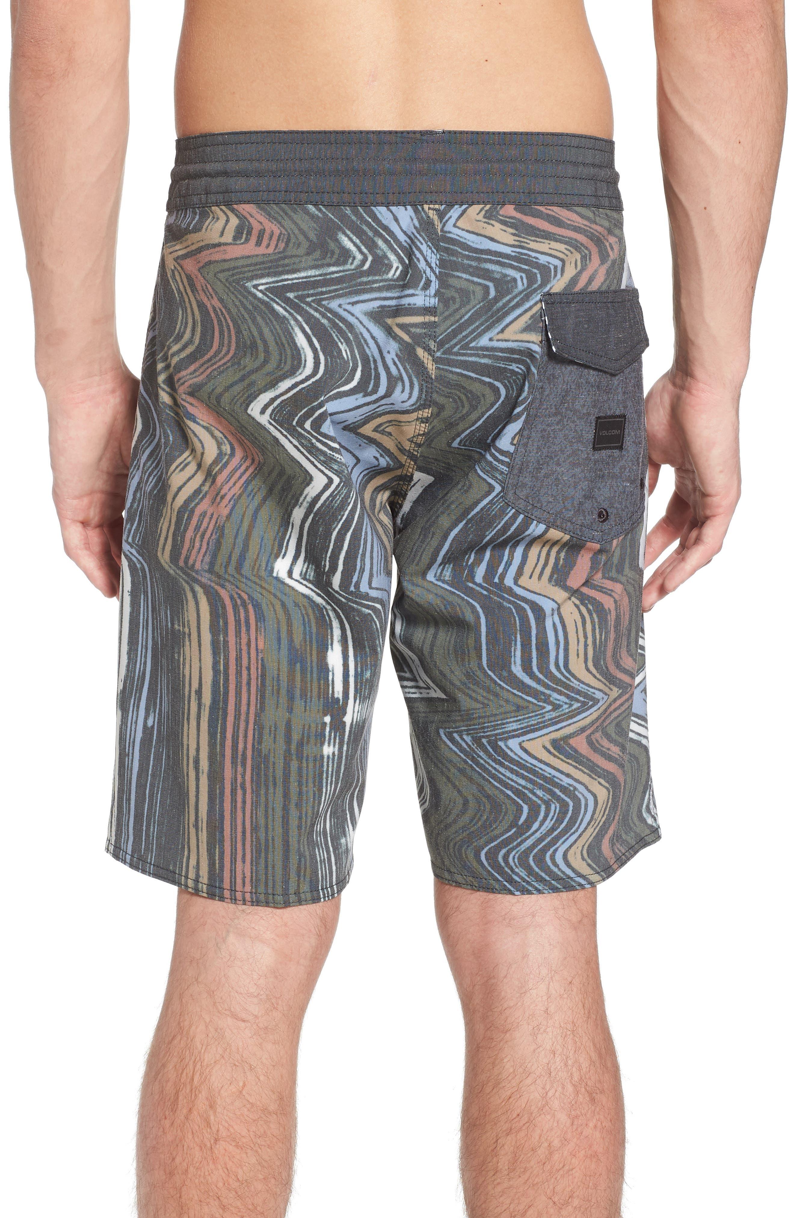 Lo-Fi Stoney Board Shorts,                             Alternate thumbnail 2, color,                             Stealth