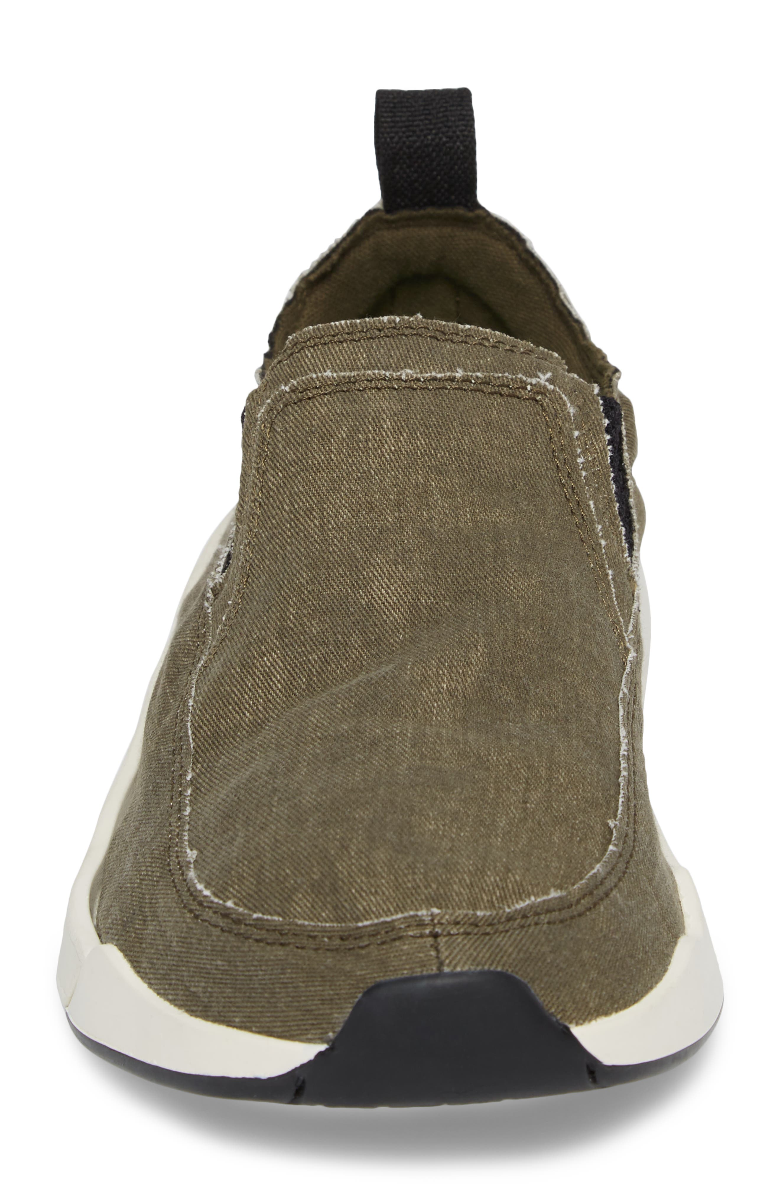 Chiba Quest Slip-On Sneaker,                             Alternate thumbnail 4, color,                             Olive