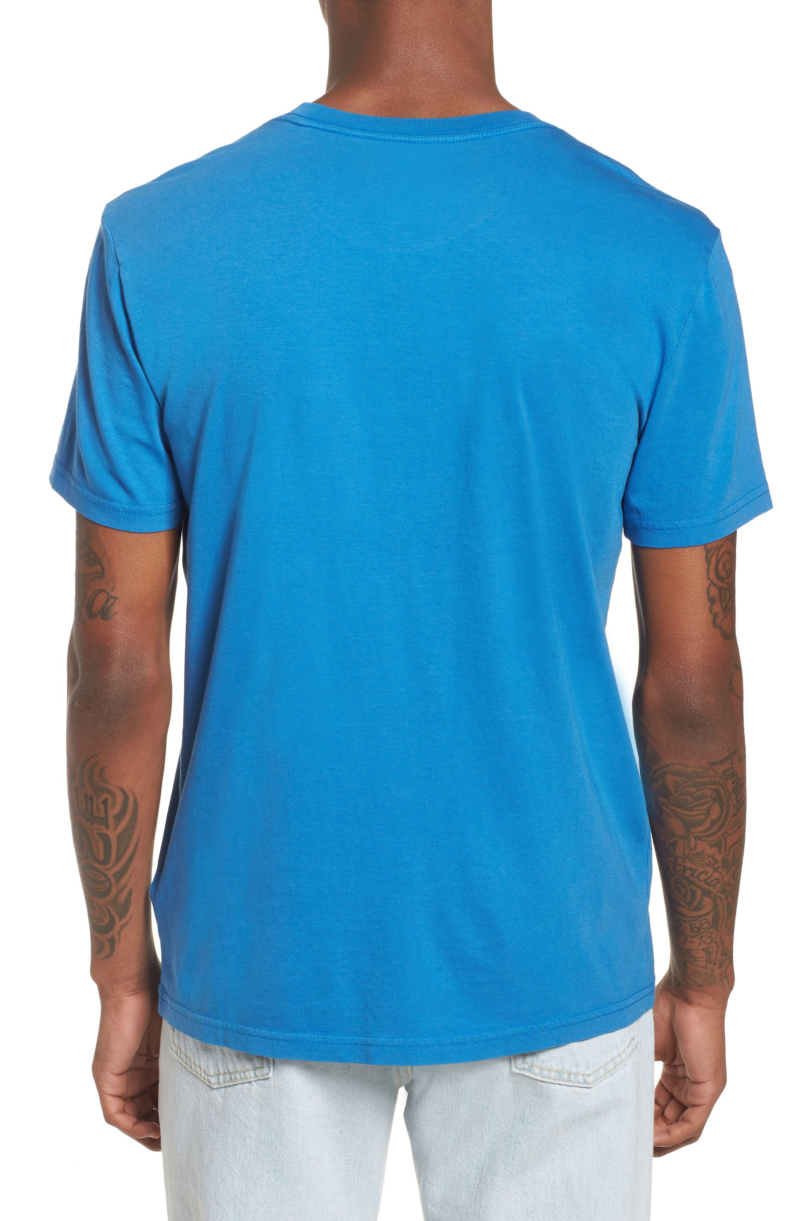 Pop Color T-Shirt,                             Alternate thumbnail 2, color,                             Strong Blue