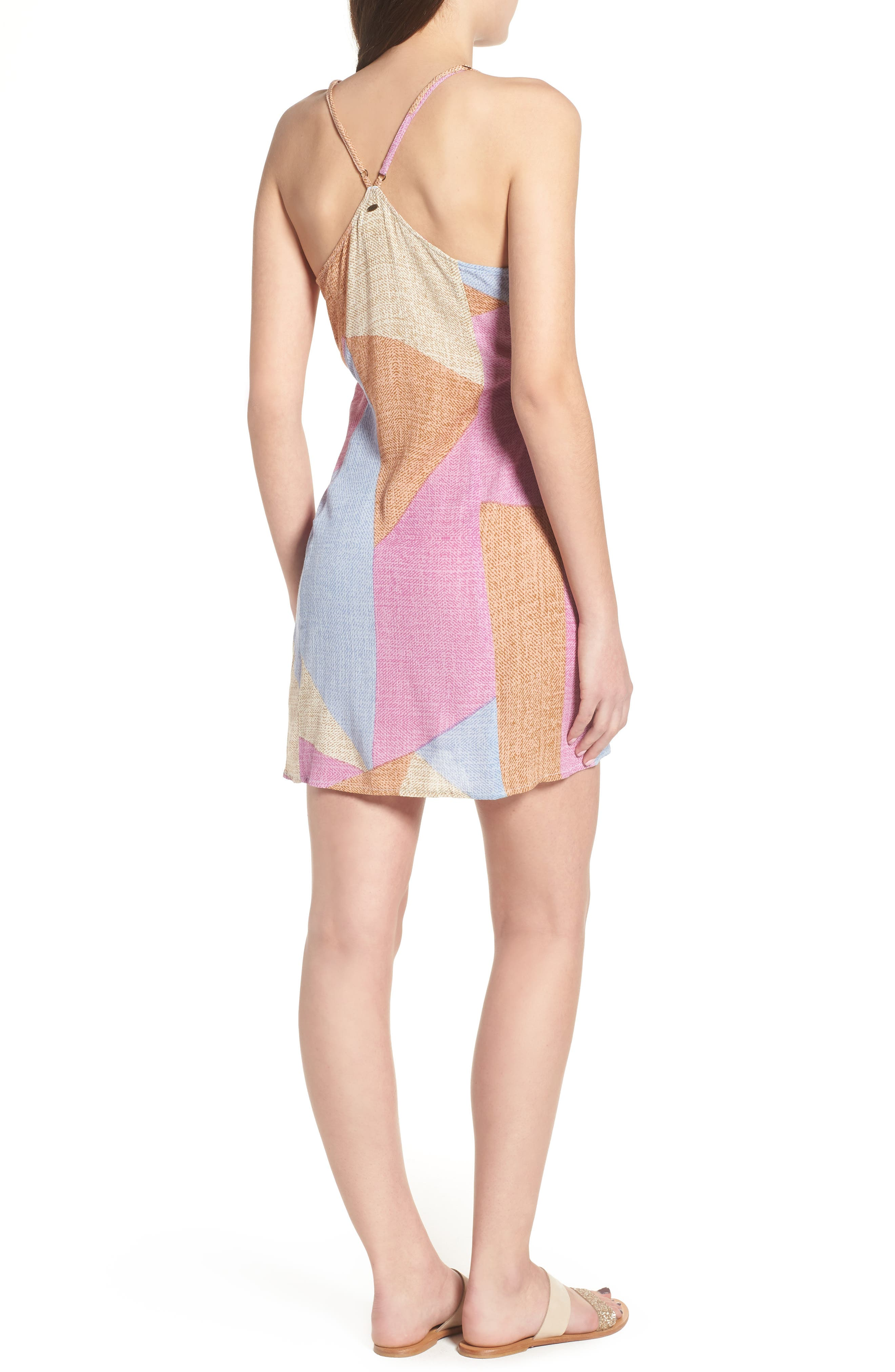 Marlo Wrap Dress,                             Alternate thumbnail 2, color,                             Multi Colored