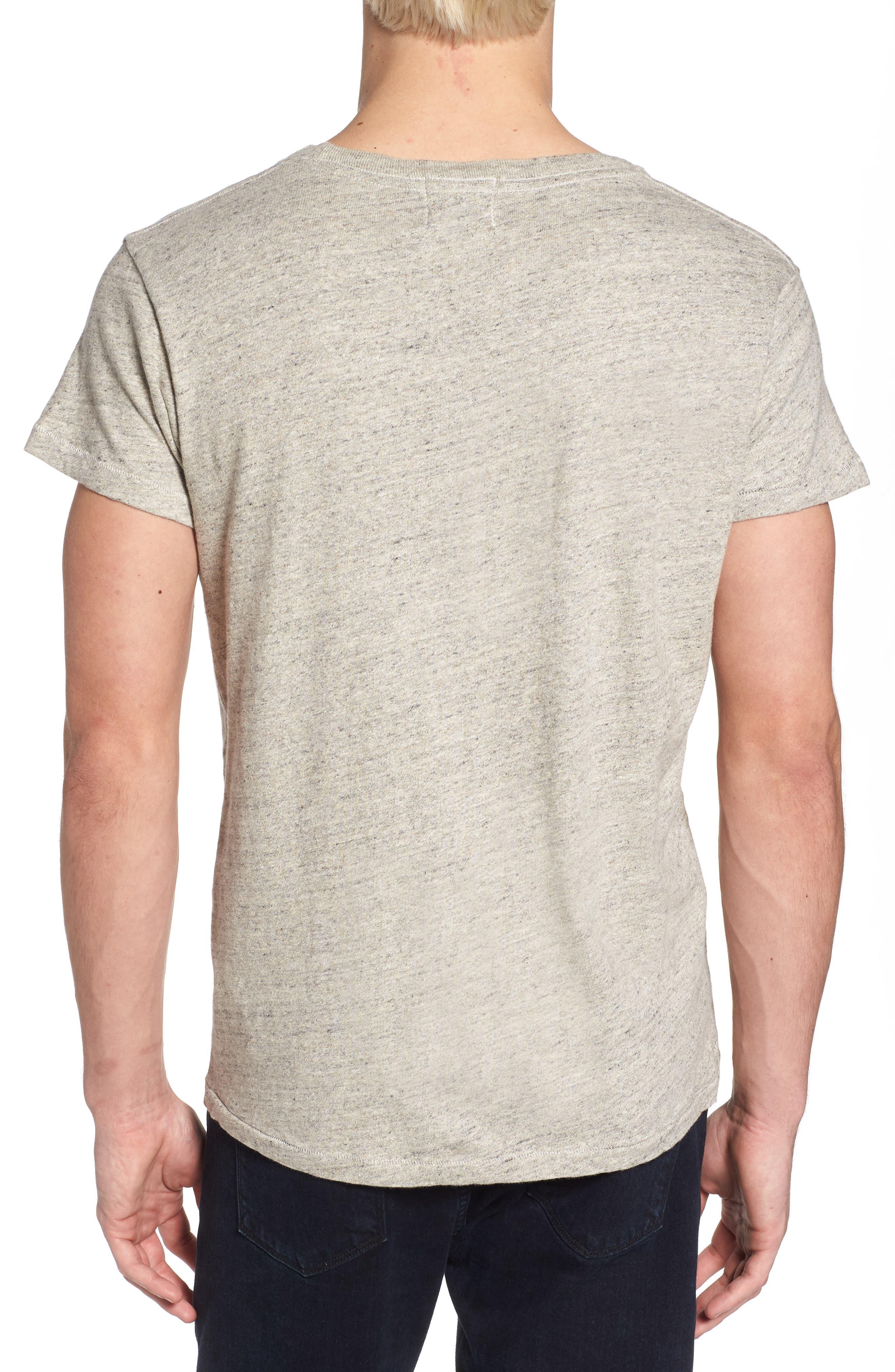 Levi's Vintage Clothing 1950s Sportswear Pocket T-Shirt,                             Alternate thumbnail 2, color,                             Grey