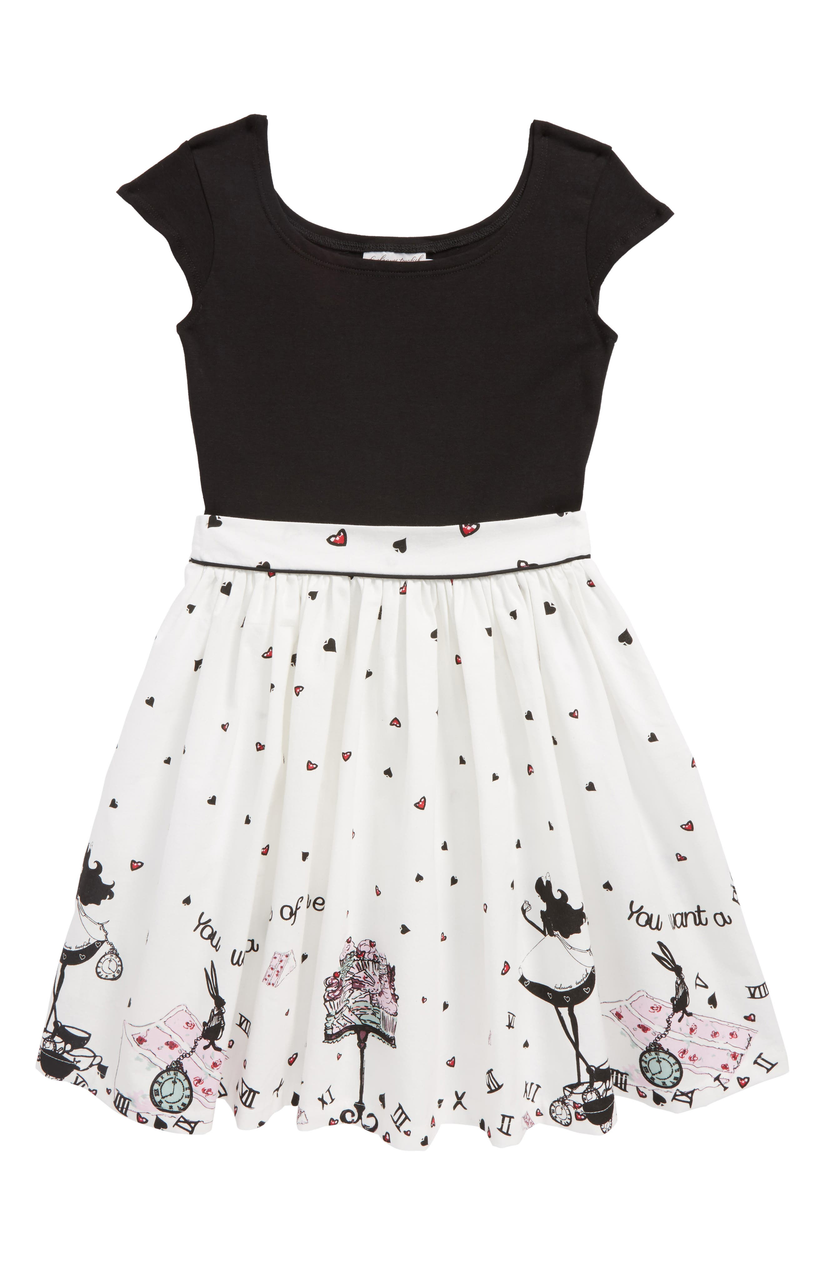 Main Image - Fiveloaves Twofish Alice Maddy Dress (Big Girls)