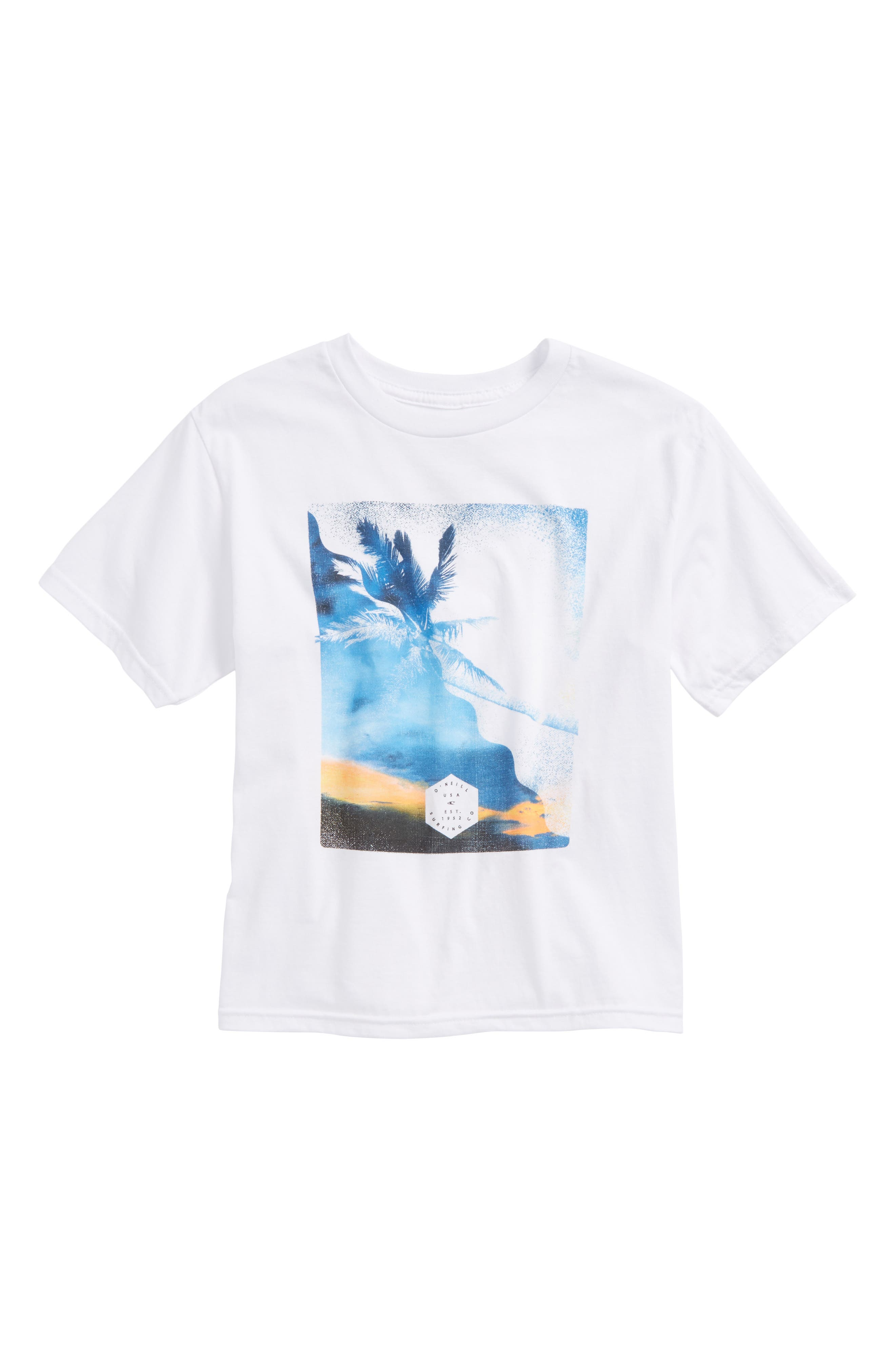 Canopy Graphic T-Shirt,                         Main,                         color, White
