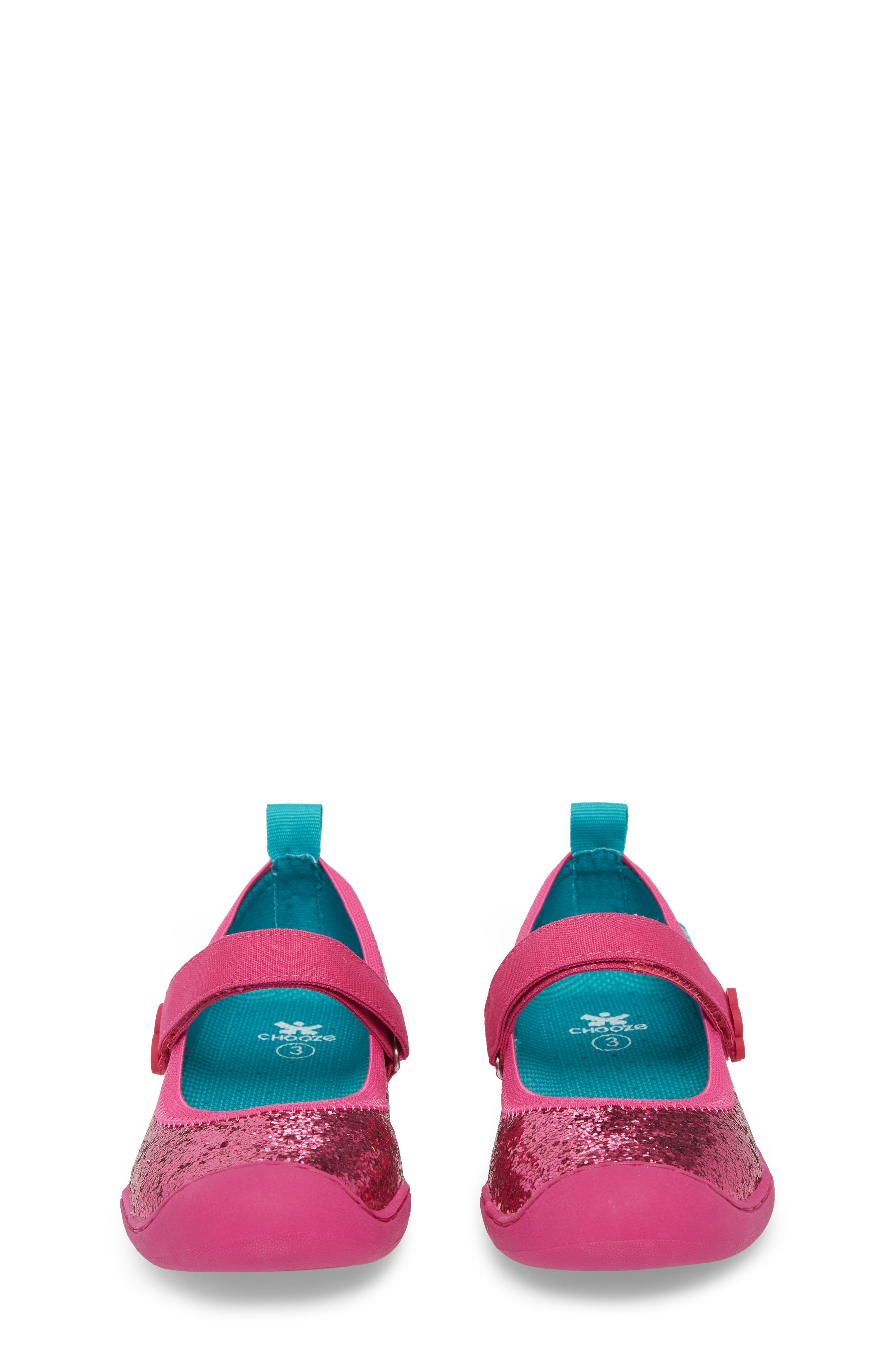 Steady Shimmer Mary Jane Sneaker,                             Alternate thumbnail 5, color,                             Tulip