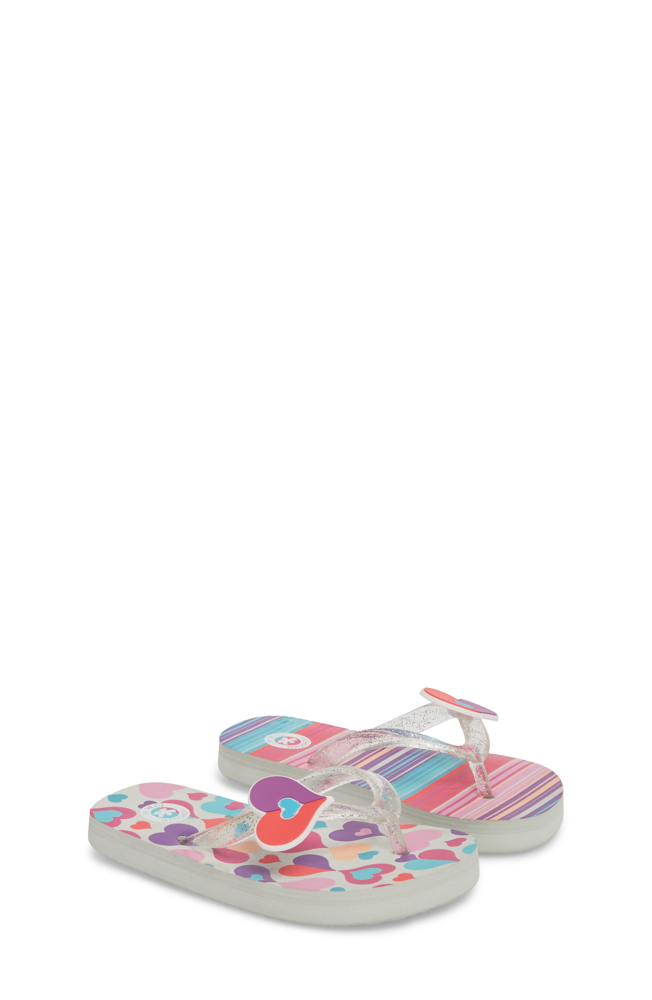 Alternate Image 3  - CHOOZE Print Flip Flop (Toddler, Little Kid & Big Kid)