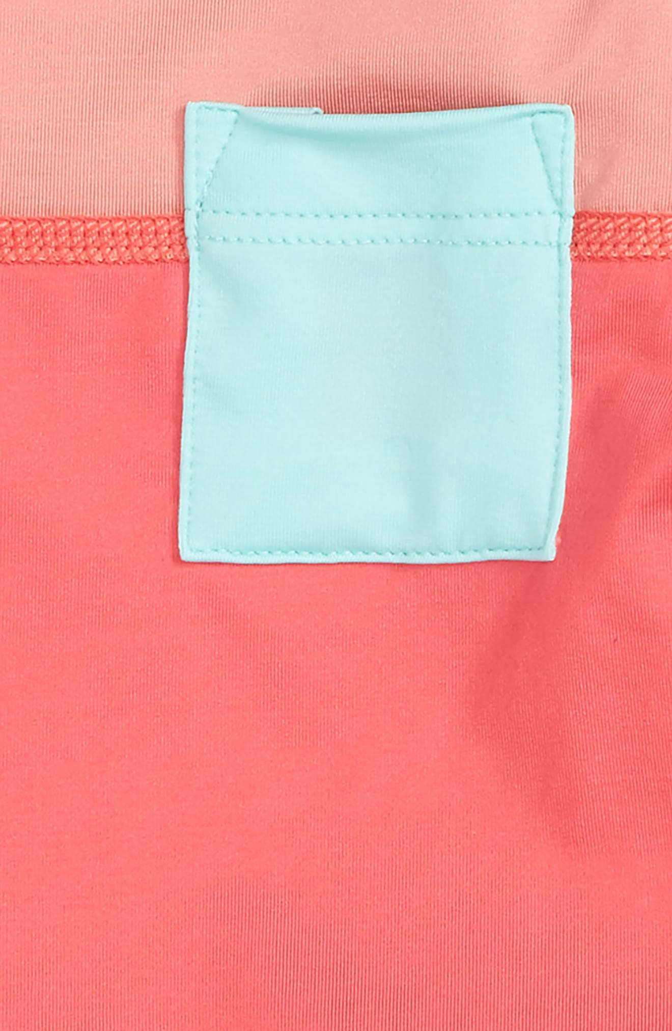 'Little Sol' Two-Piece Rashguard Swimsuit,                             Alternate thumbnail 2, color,                             Srap Sierra Pink