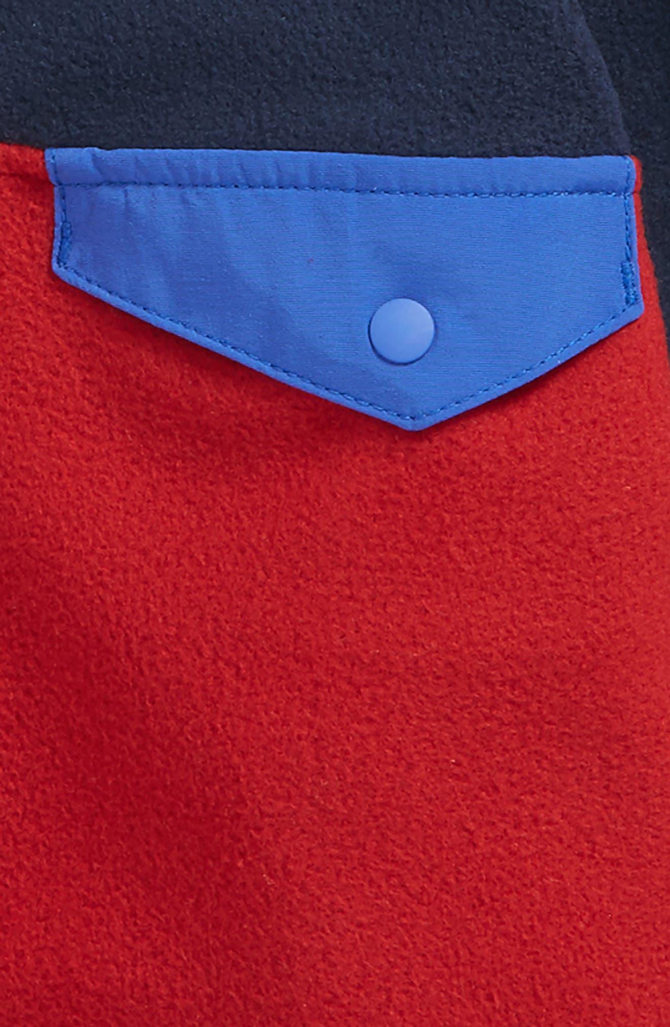 Alternate Image 2  - Patagonia Micro D® Snap-T® Fleece Jacket (Baby Boys)