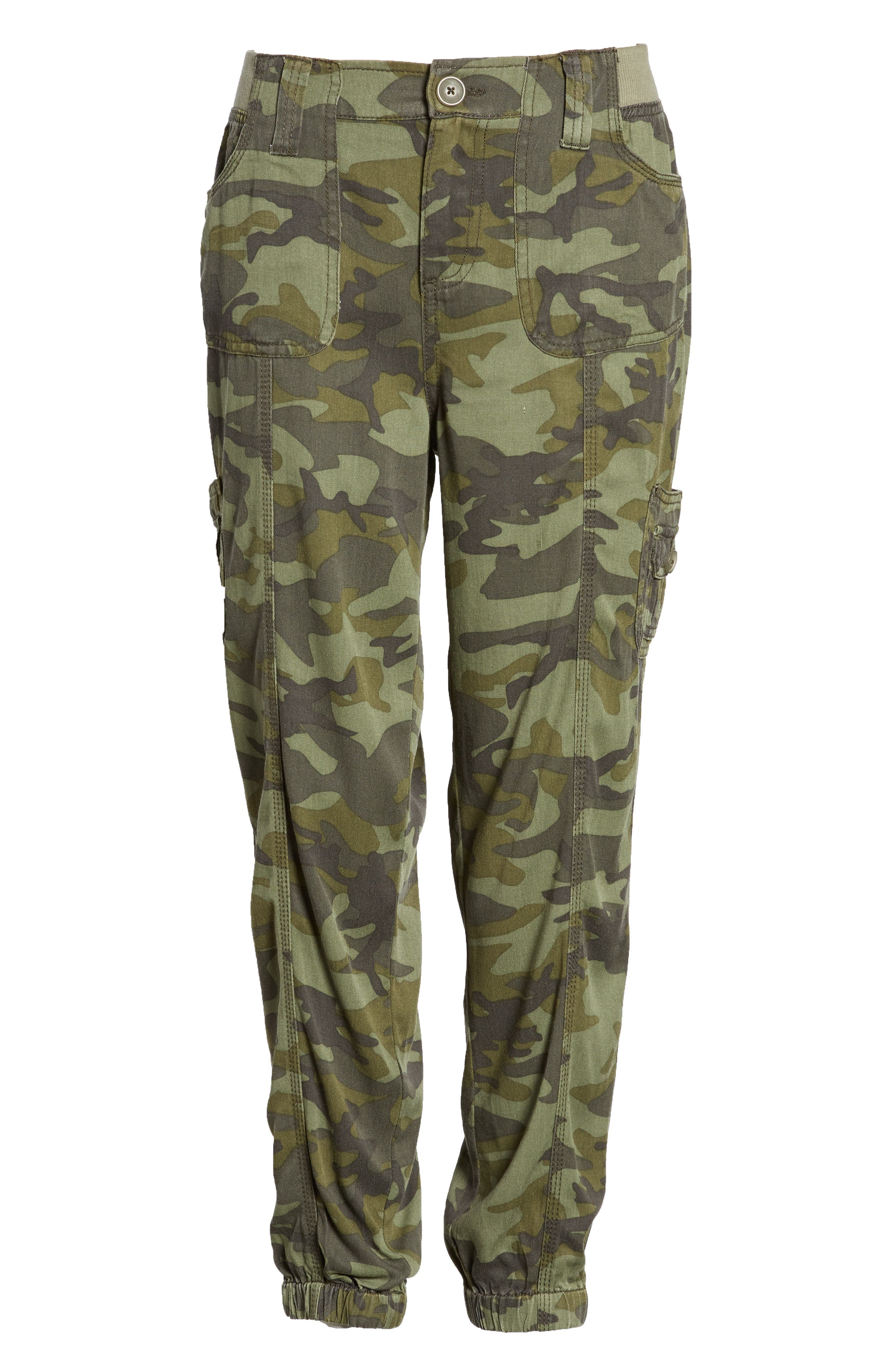 Alternate Image 6  - Love, Fire Camo Print Cargo Pants