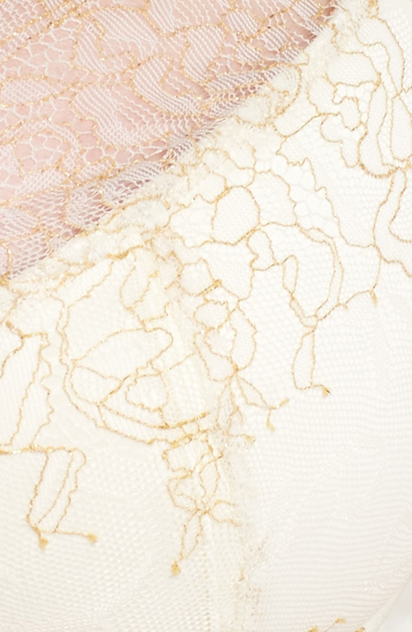 Karine Underwire Demi Bra,                             Alternate thumbnail 10, color,                             Ivory