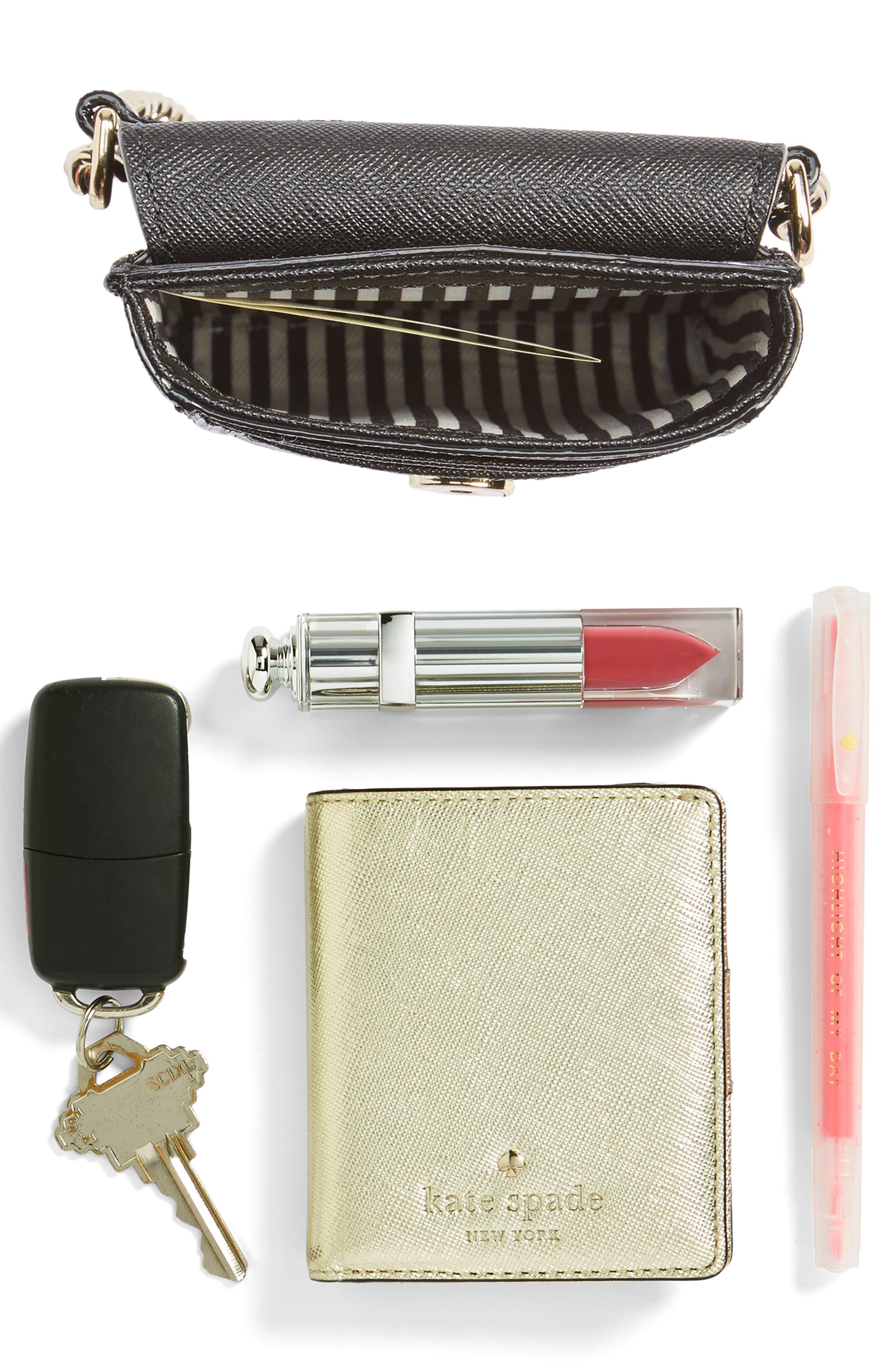 cat smartphone crossbody bag,                             Alternate thumbnail 7, color,