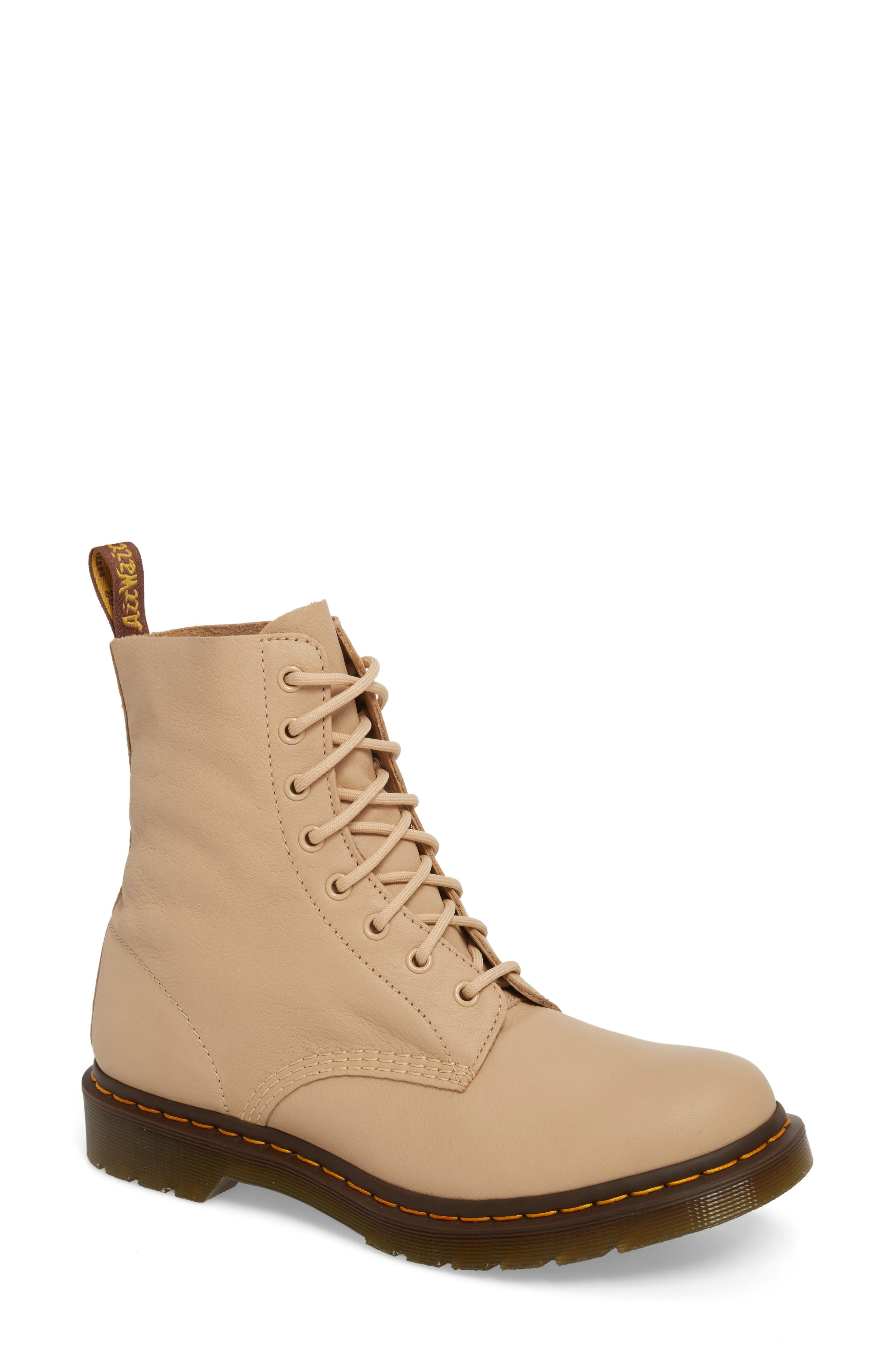 Pascal Boot,                             Main thumbnail 1, color,                             Nude Virginia Leather