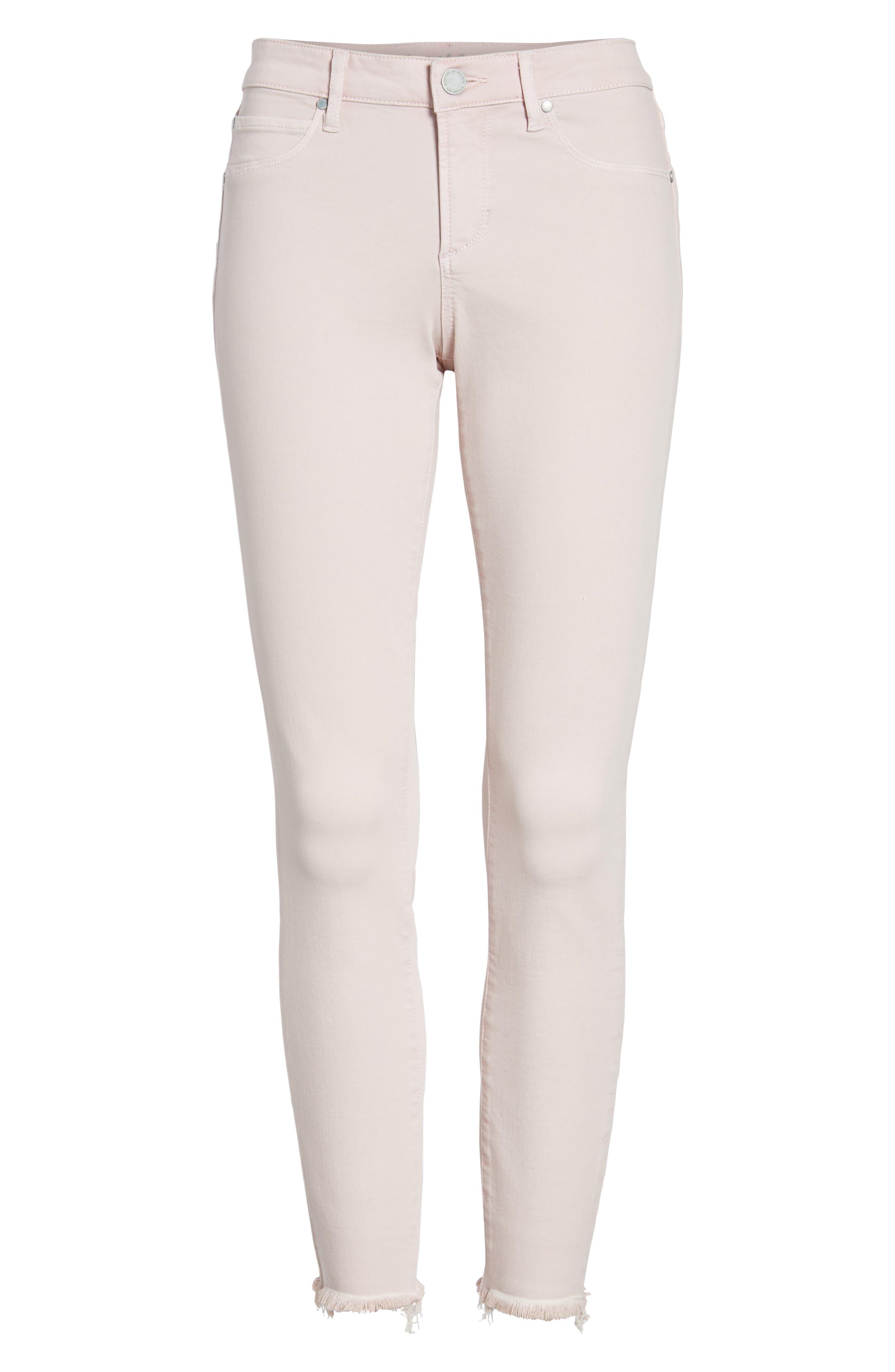 Carly Raw Hem Ankle Skinny Jeans,                             Alternate thumbnail 7, color,                             Dana Point