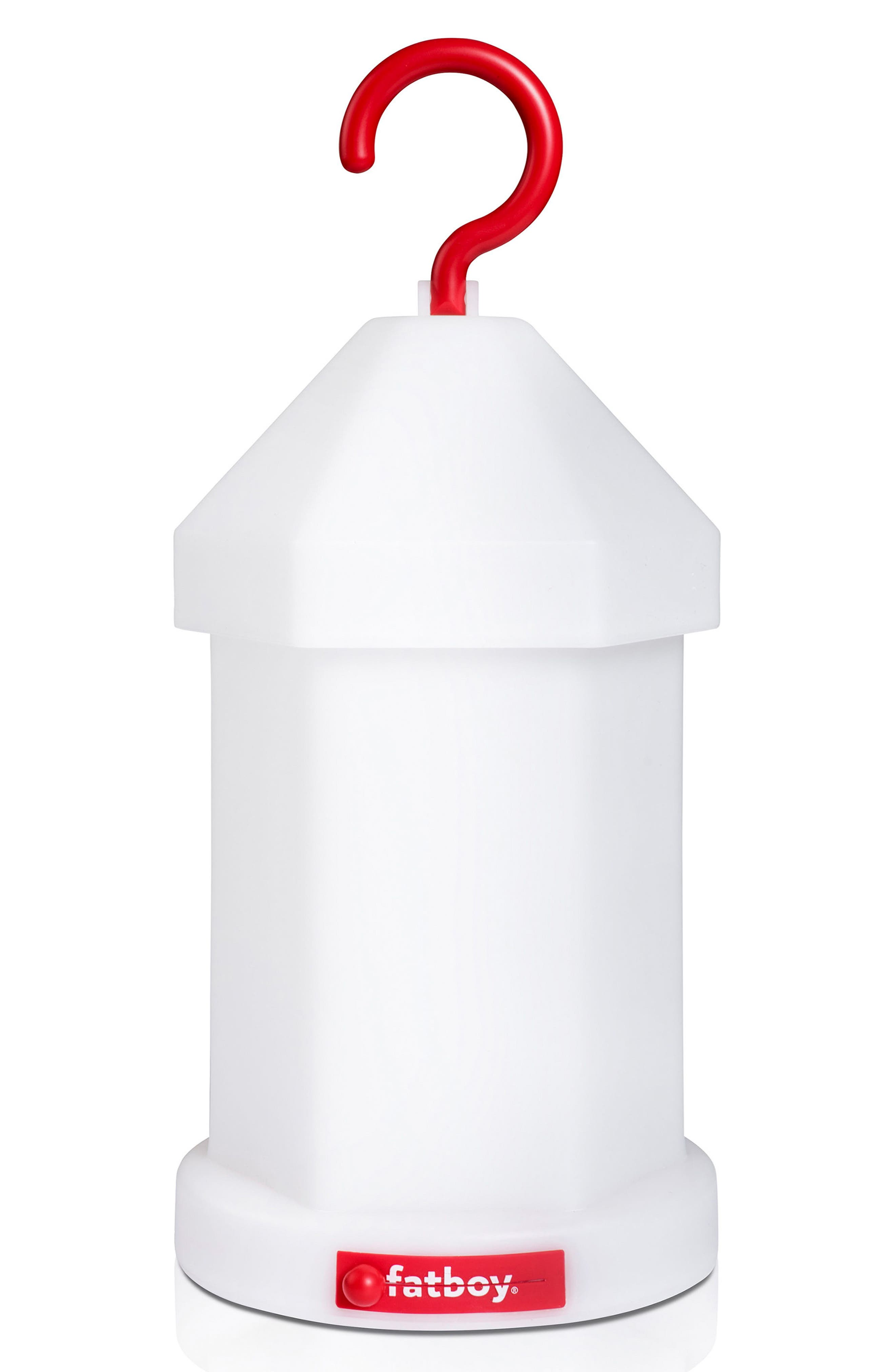 Lampie-On Wireless Lantern,                         Main,                         color, White