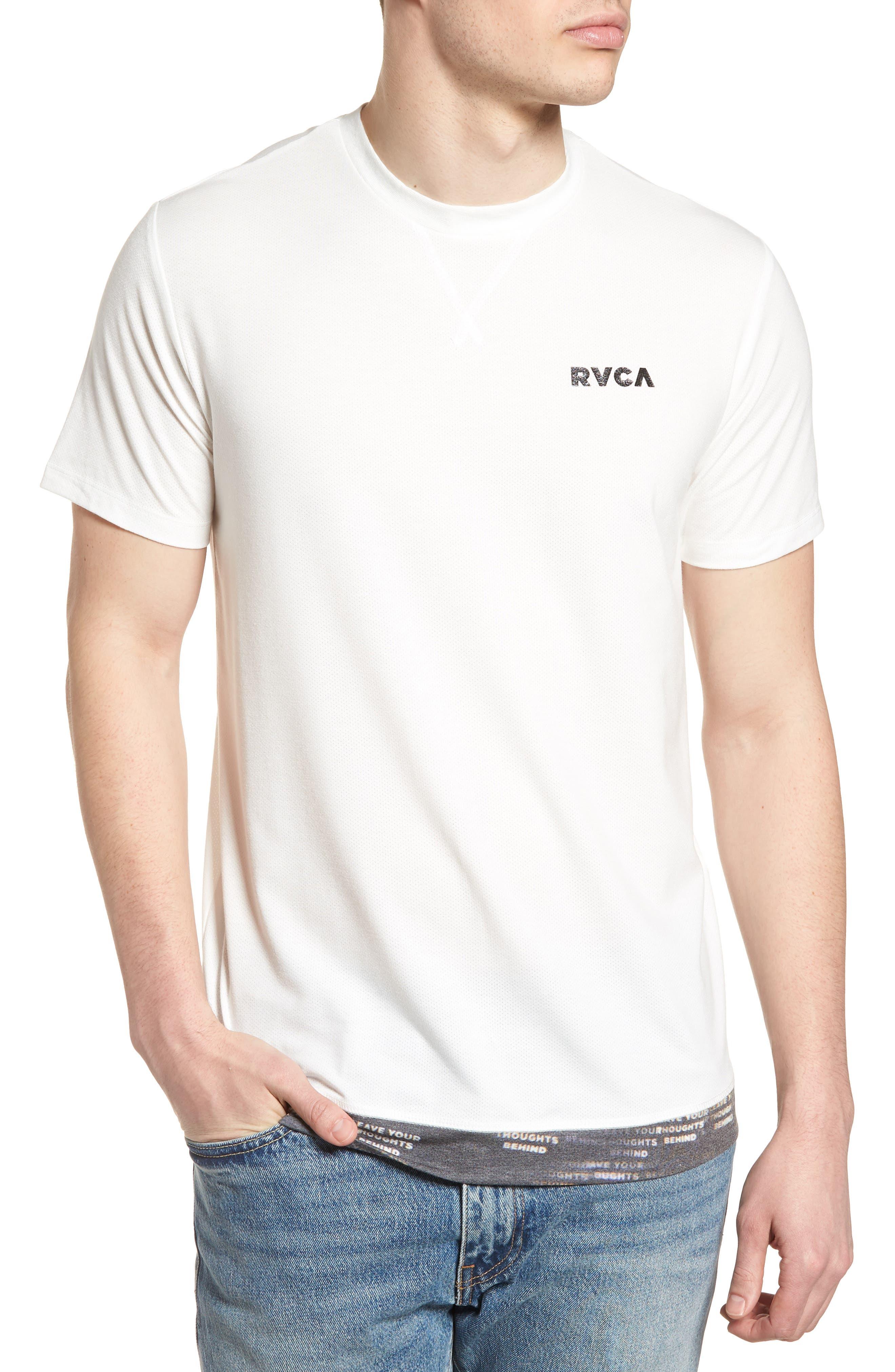 Runner Mesh II T-Shirt,                         Main,                         color, White