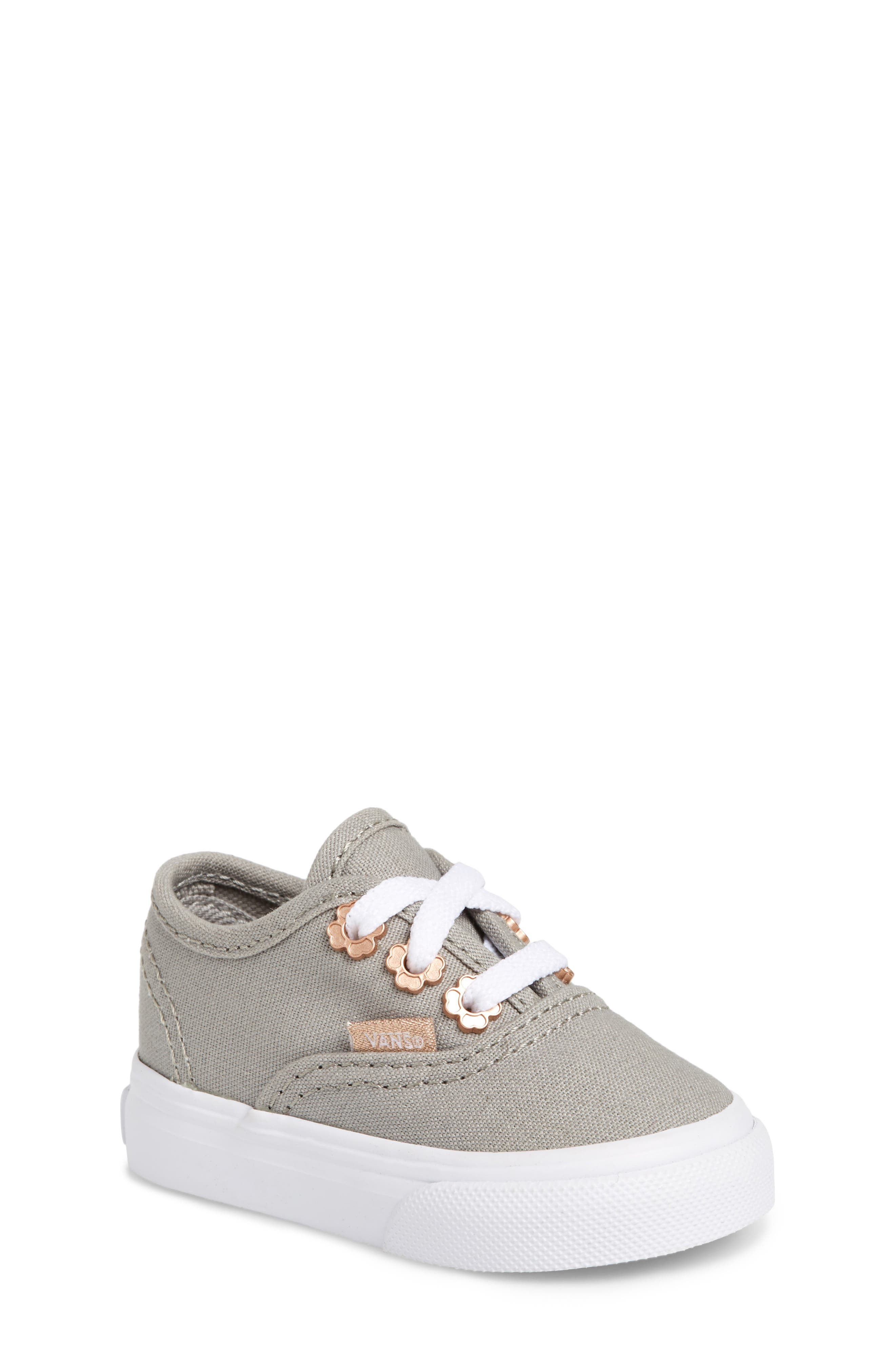 Authentic Sneaker,                             Main thumbnail 1, color,                             Drizzle Flower Eyelet