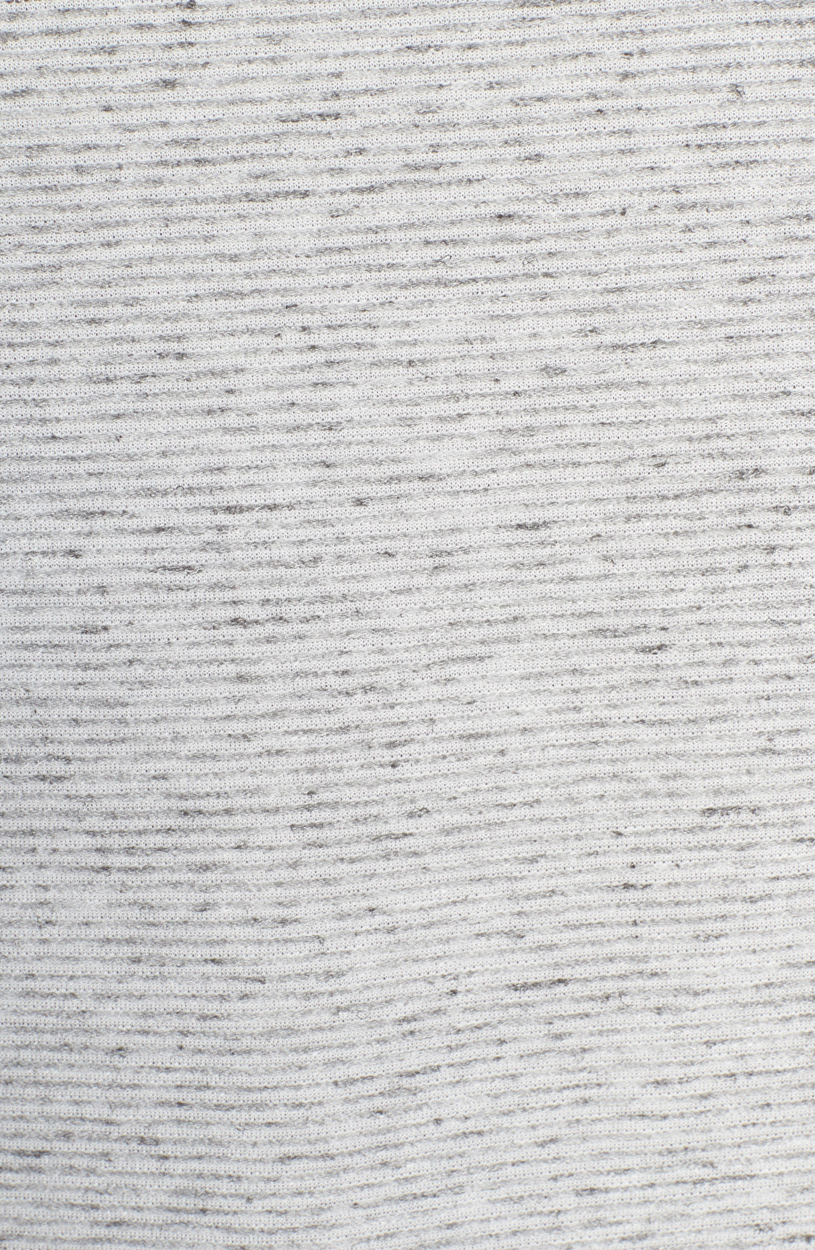 Metro Stripe Henley Shirt,                             Alternate thumbnail 5, color,                             Light Grey