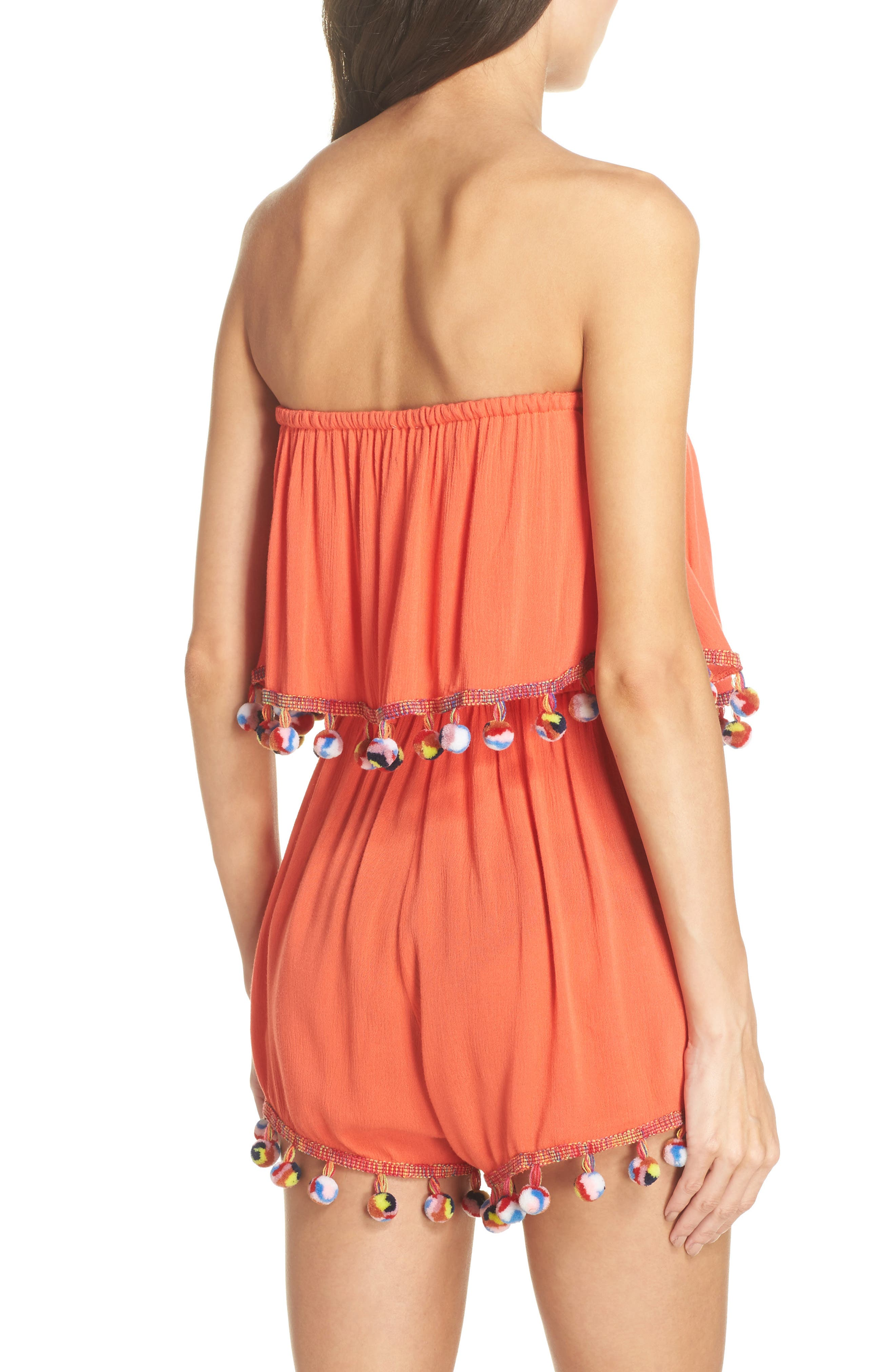 Alternate Image 2  - Surf Gypsy Red Fruit Punch Cover-Up Romper
