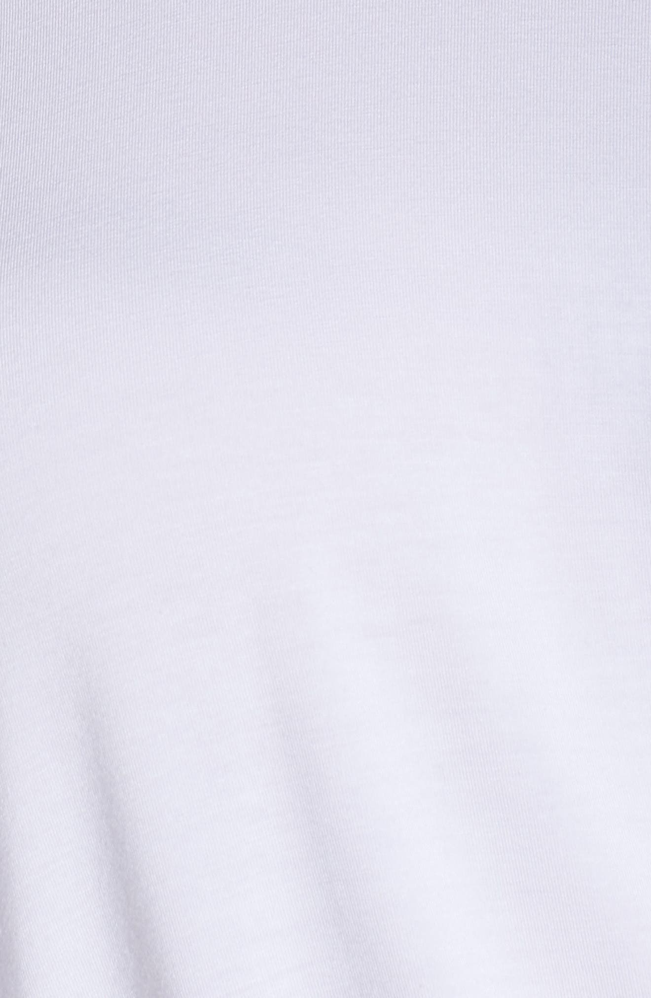 Cinch Tee,                             Alternate thumbnail 5, color,                             White