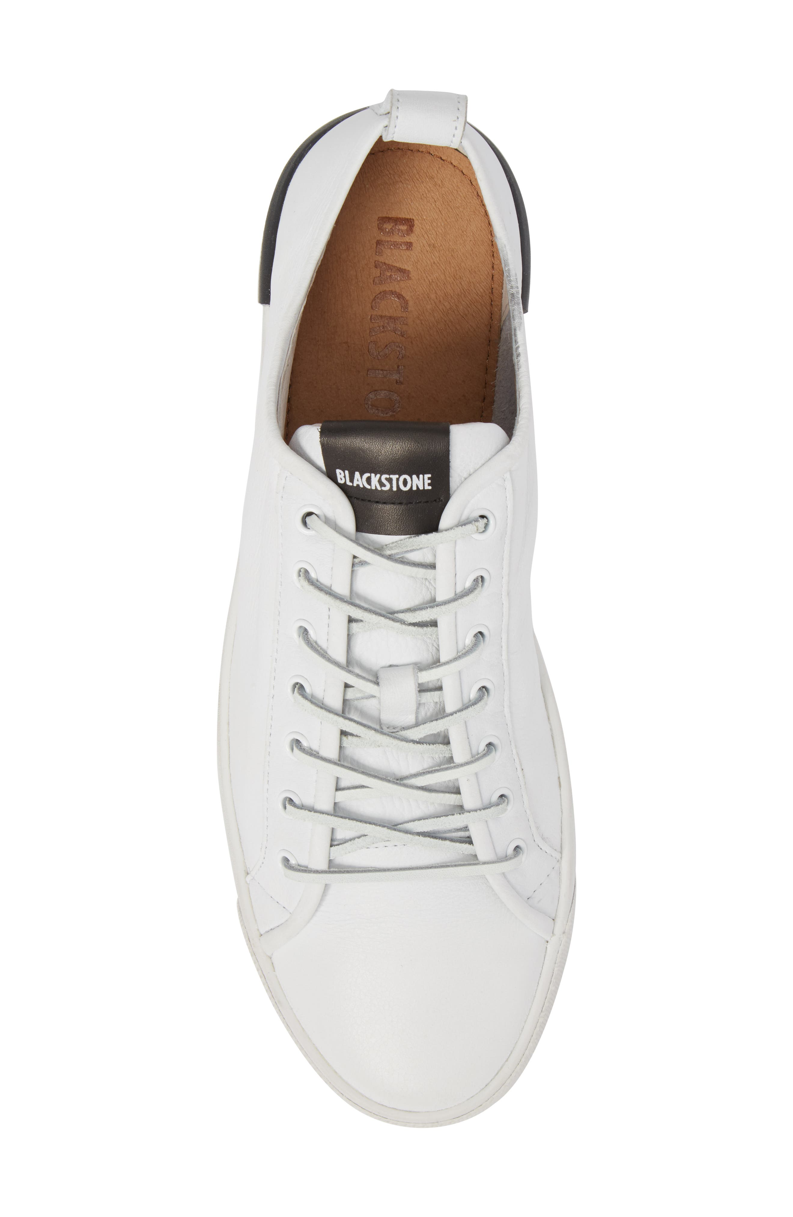 PM66 Low Top Sneaker,                             Alternate thumbnail 5, color,                             White Leather