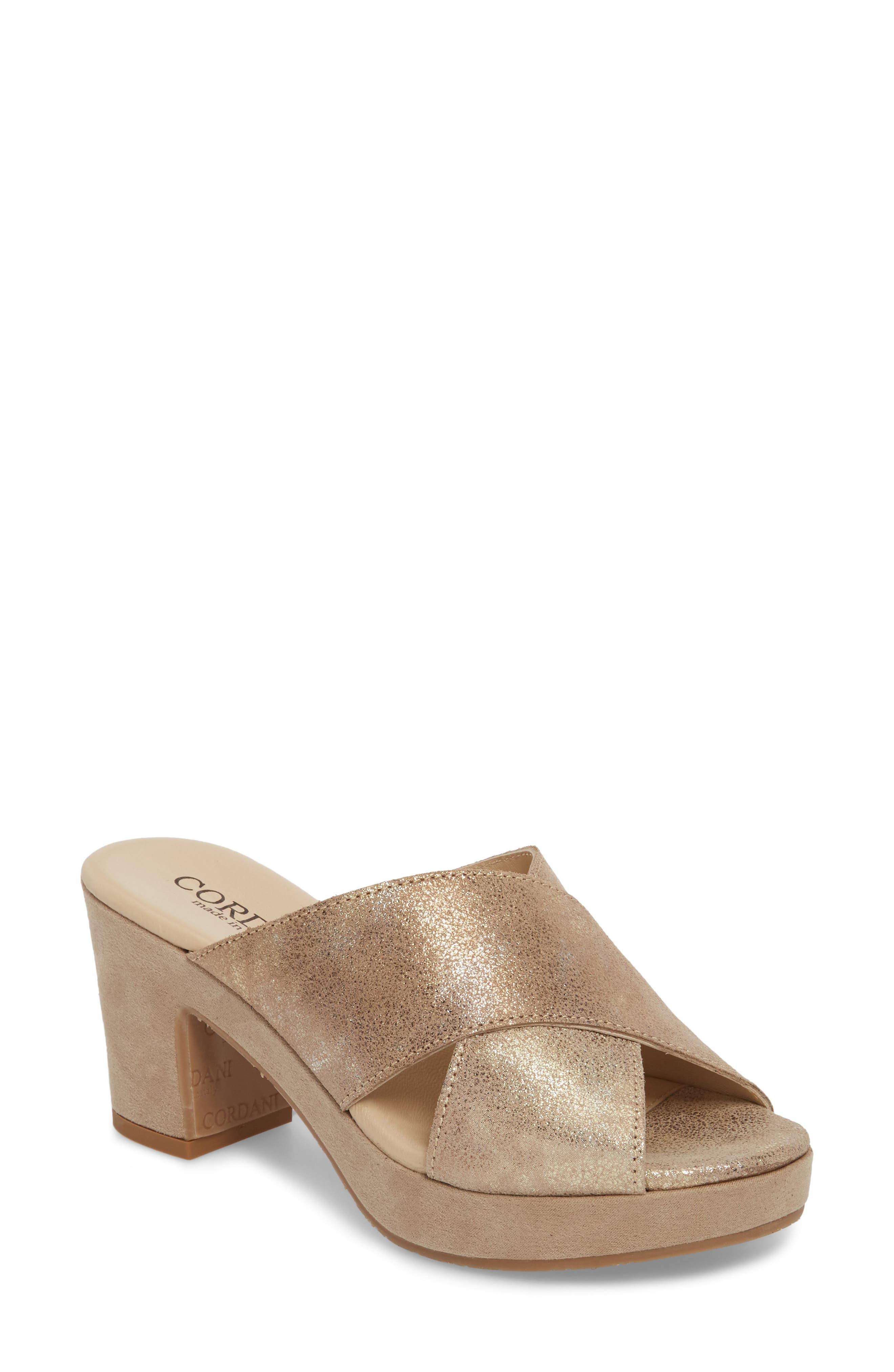 Cordani Kimbel Platform Slide Sandal (Women)
