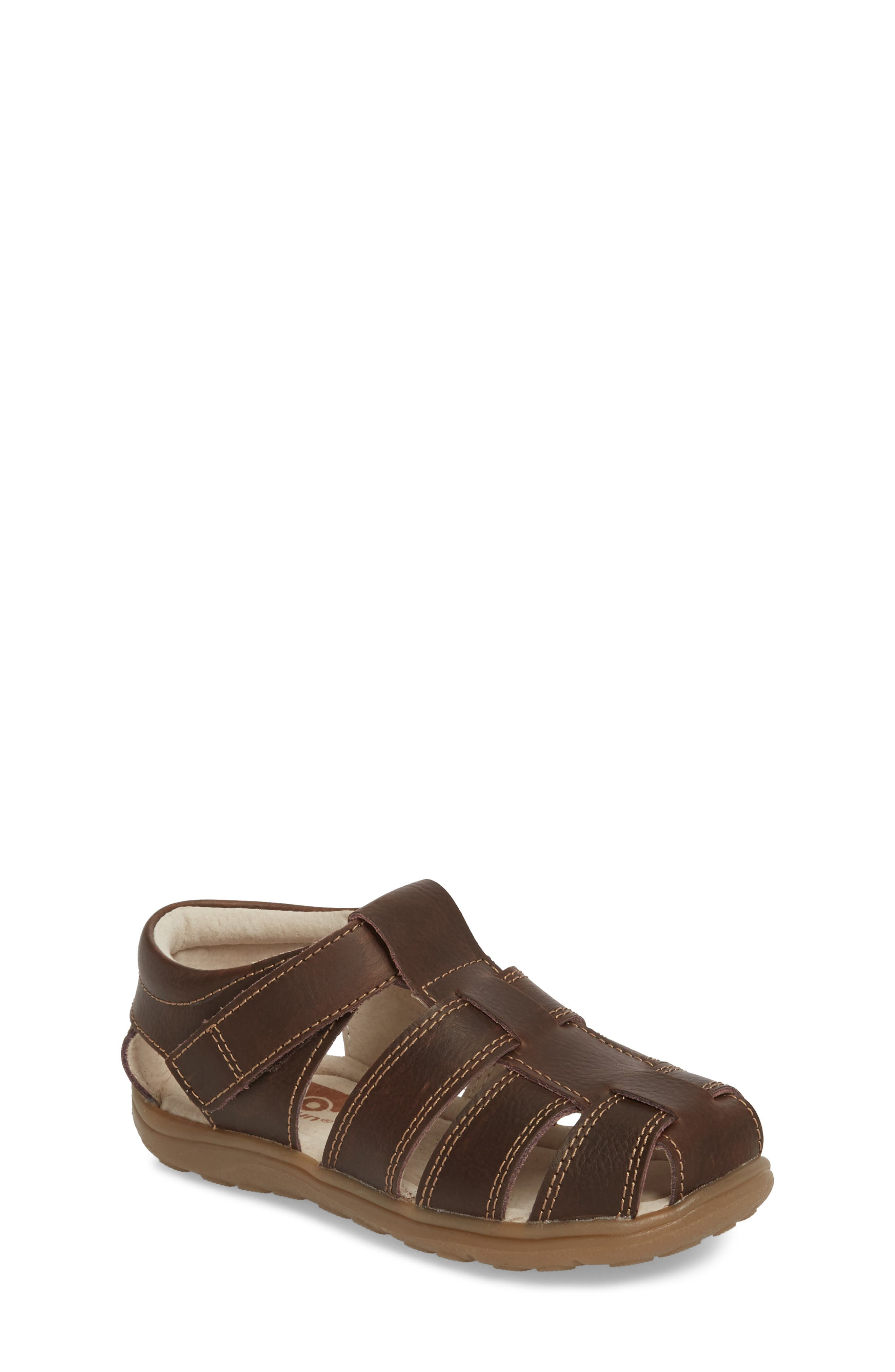 Main Image - See Kai Run Jude III Fisherman Sandal (Toddler & Little Kid)