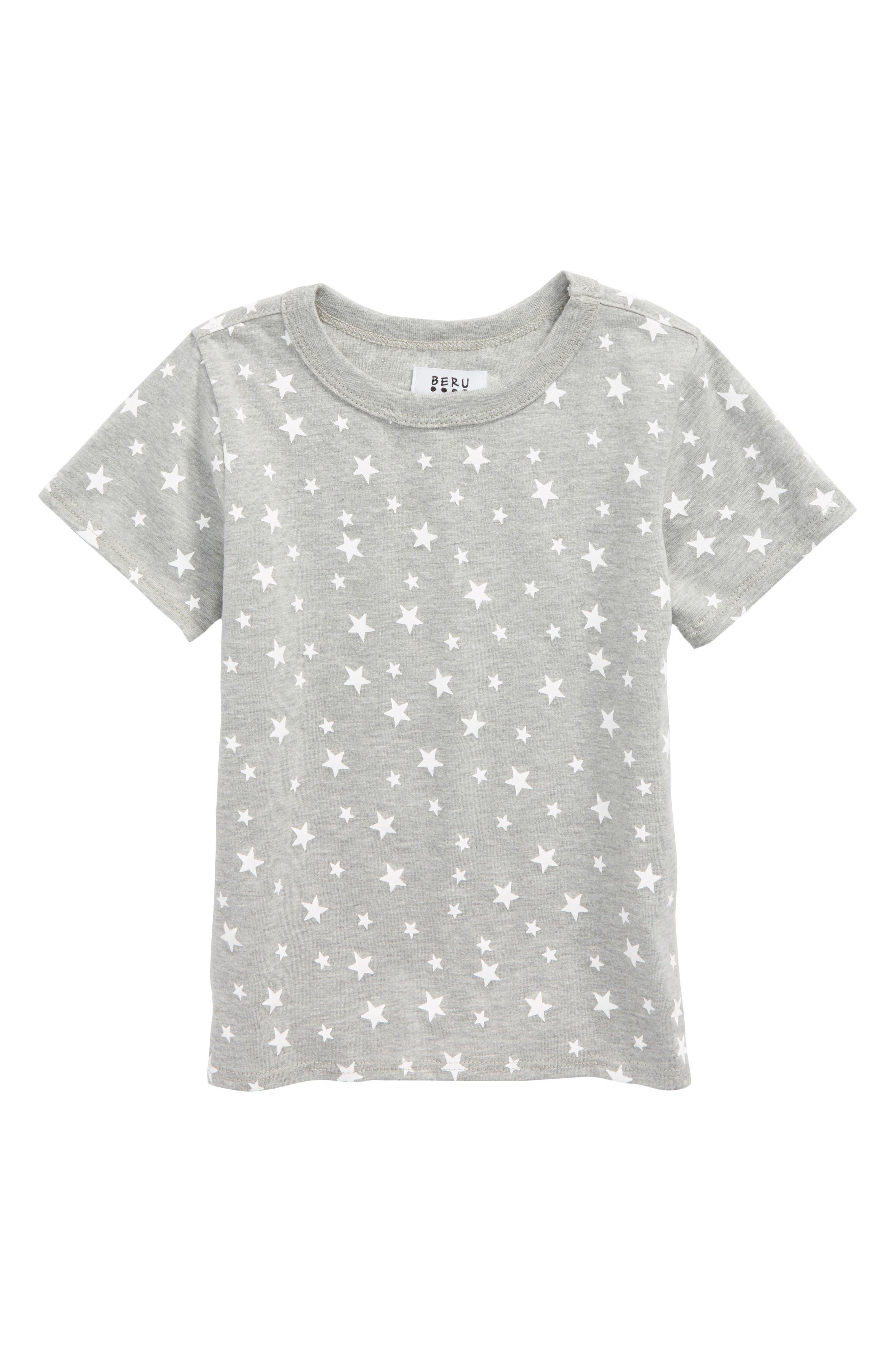 Alternate Image 1 Selected - Beru Enzo Star Print T-Shirt (Toddler Boys & Little Boys)