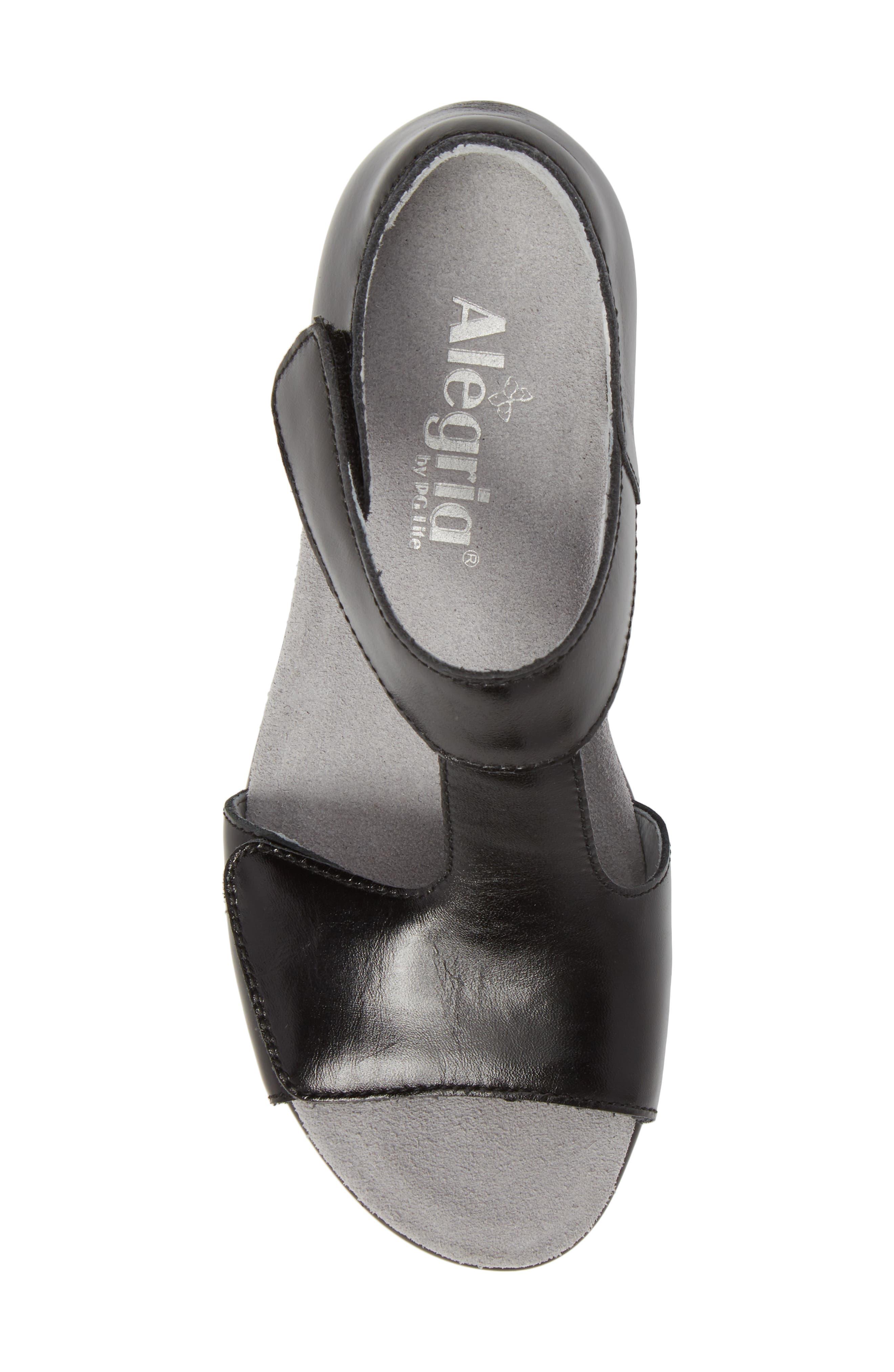 by PG Lite Riki T-Strap Sandal,                             Alternate thumbnail 5, color,                             Yaz Leather