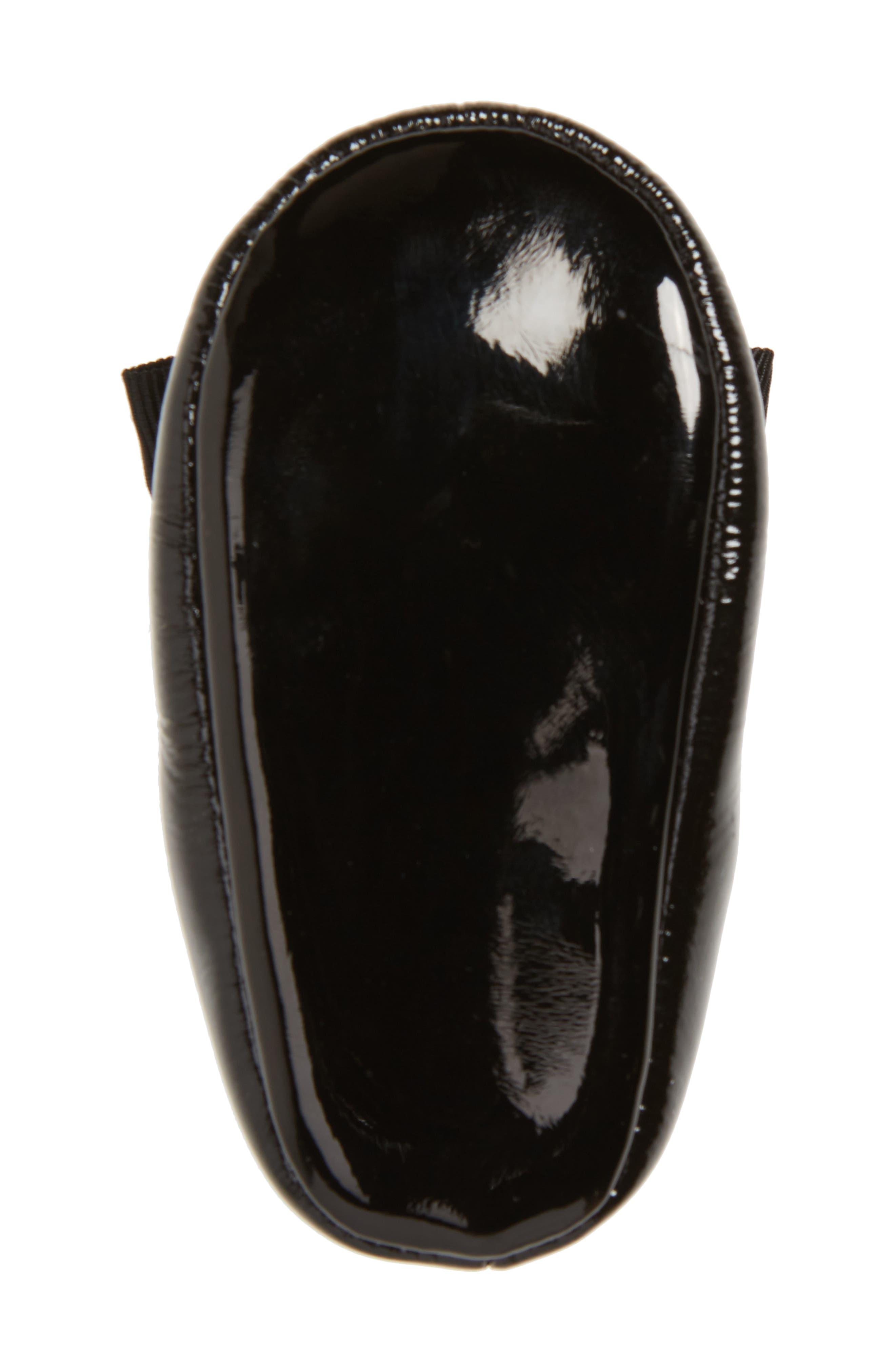 Lilia Mary Jane Flat,                             Alternate thumbnail 6, color,                             Black Patent Leather