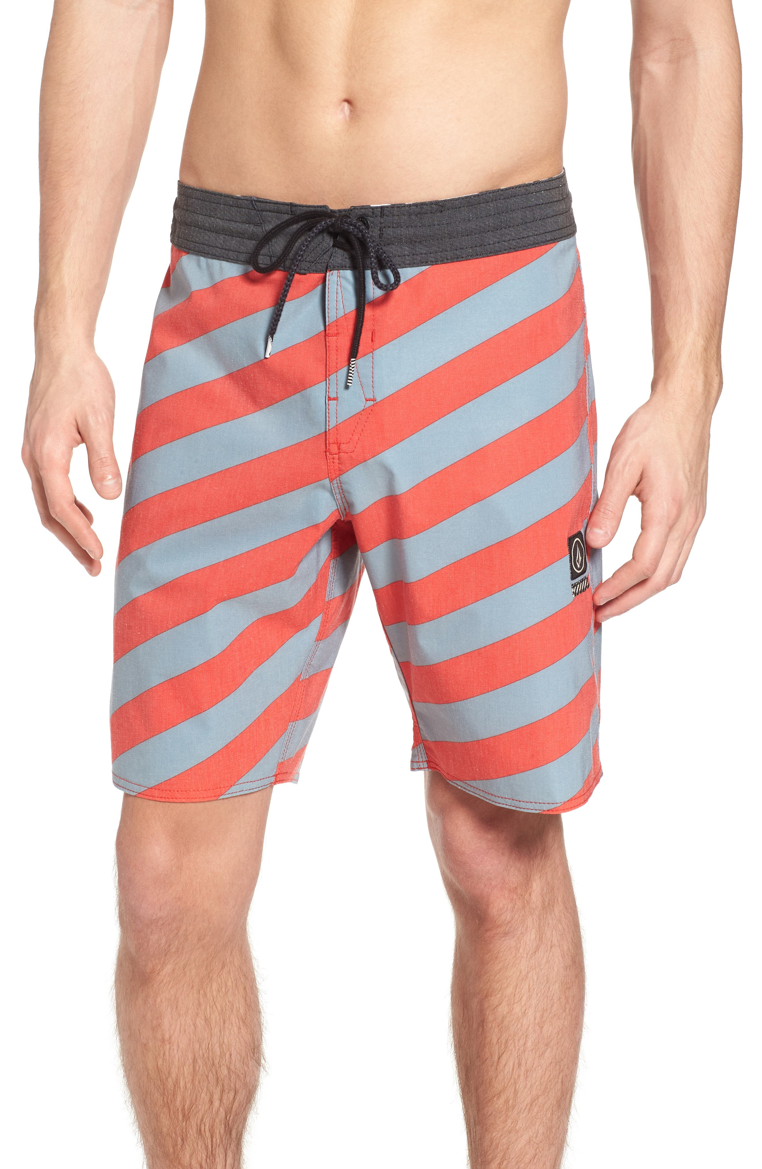 Stripey Stoney Boardshorts,                         Main,                         color, Lead