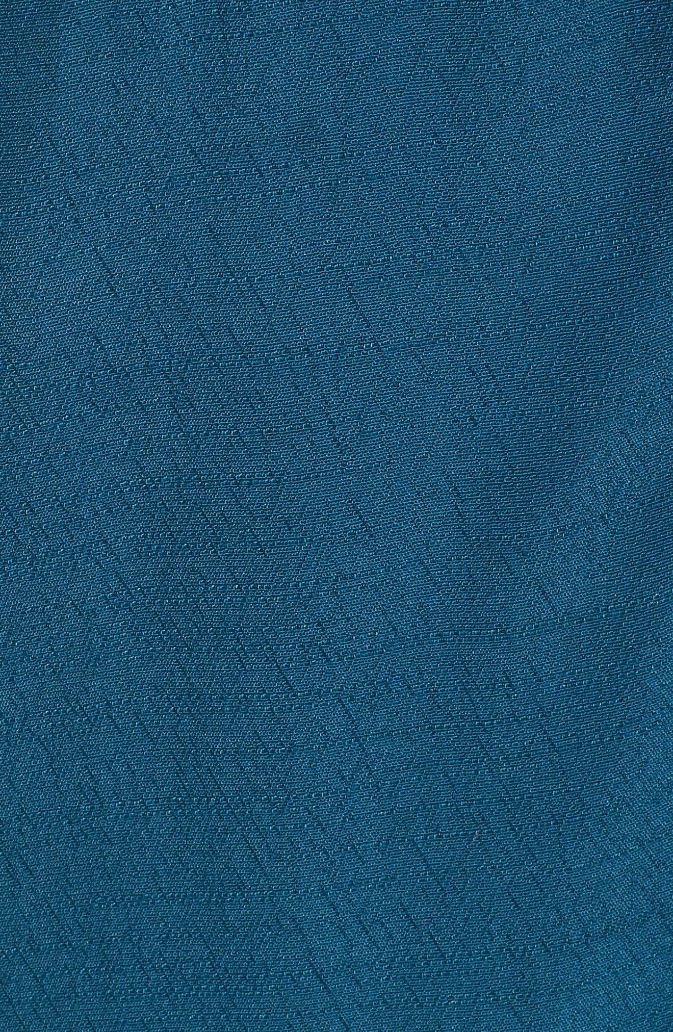 Split Neck Shift Dress,                             Alternate thumbnail 5, color,                             Legion Blue