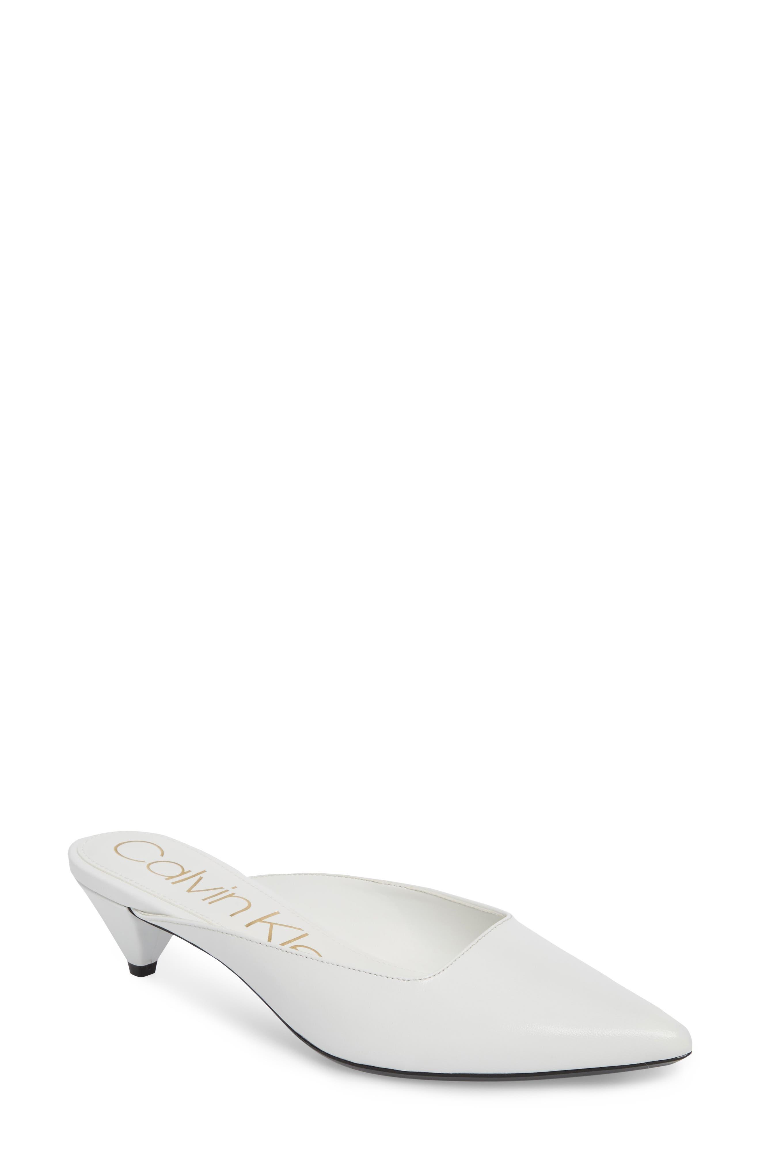 Calvin Klein Lanora Pointy Toe Mule (Women)
