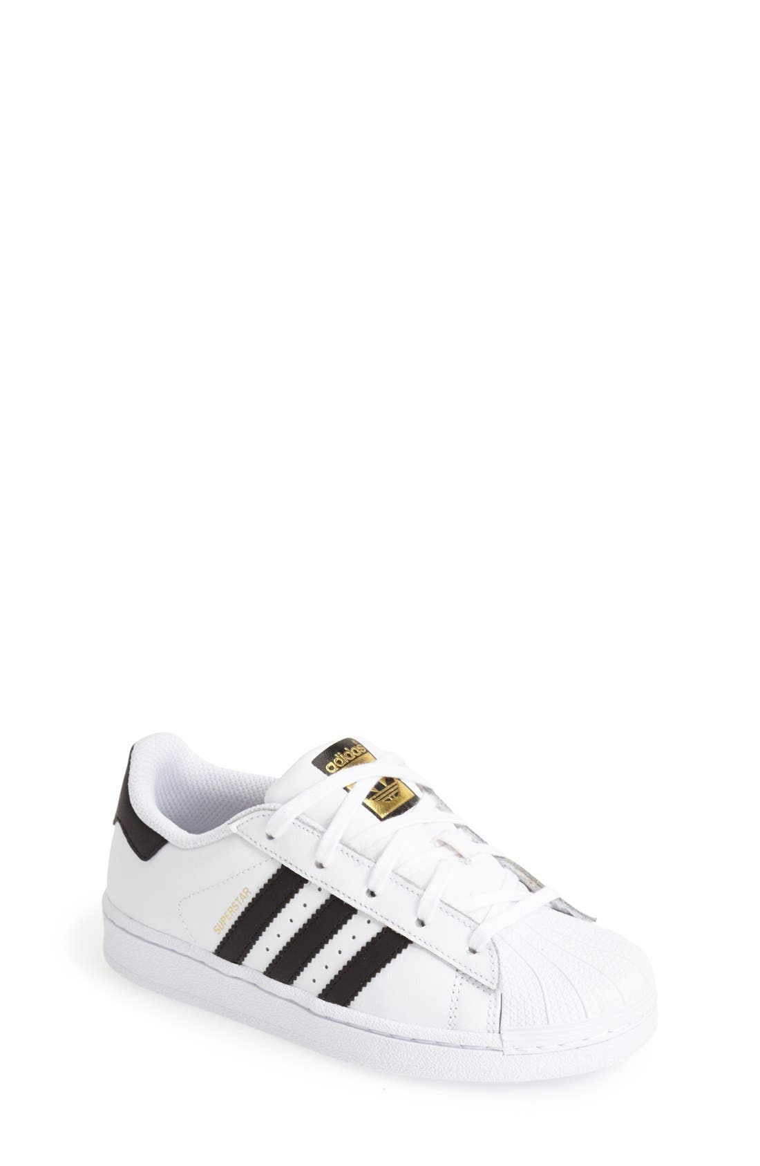 adidas \u0027Superstar C\u0027 Sneaker (Toddler ...