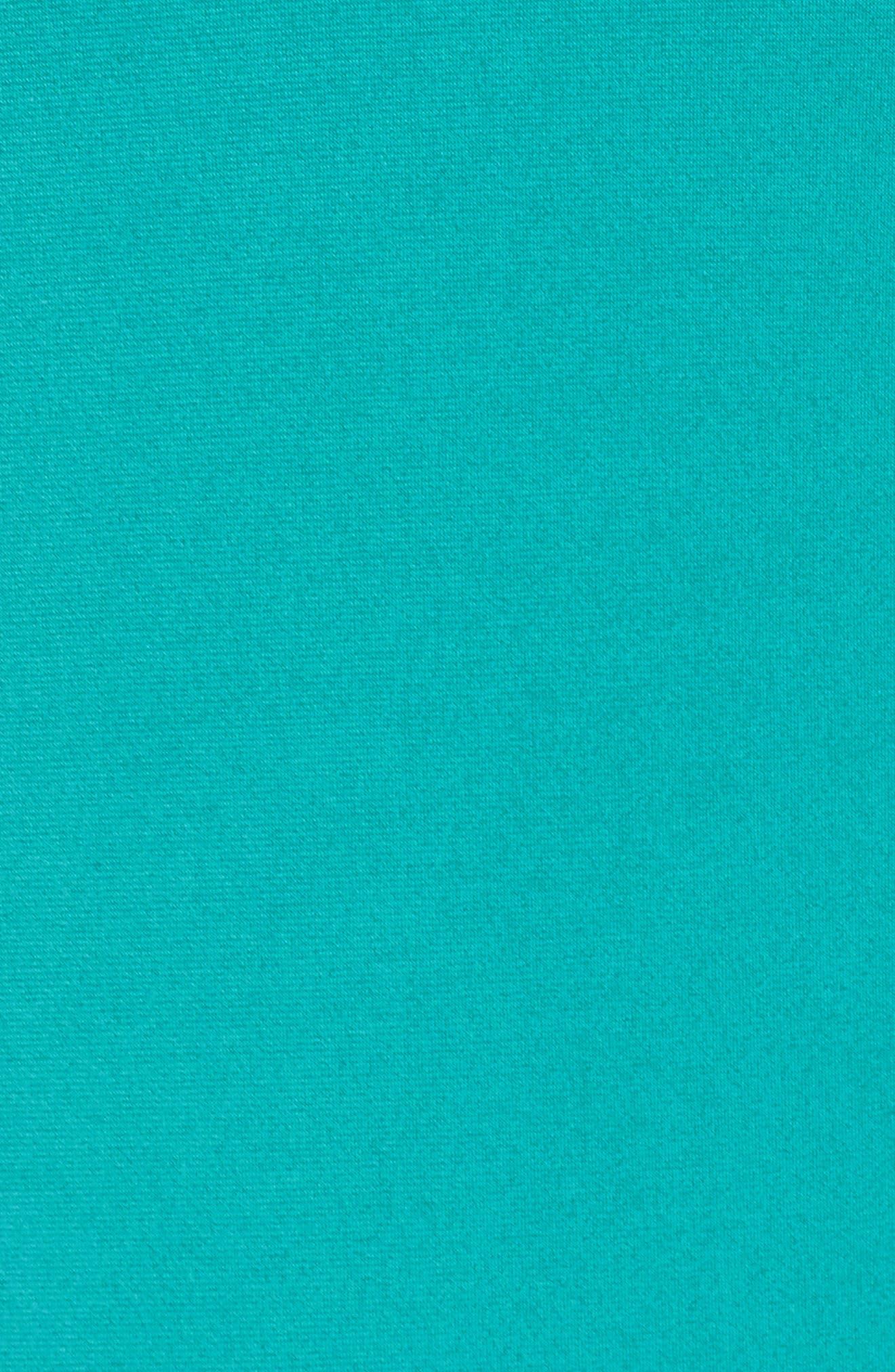 Ring Detail Shift Dress,                             Alternate thumbnail 5, color,                             Tile Blue