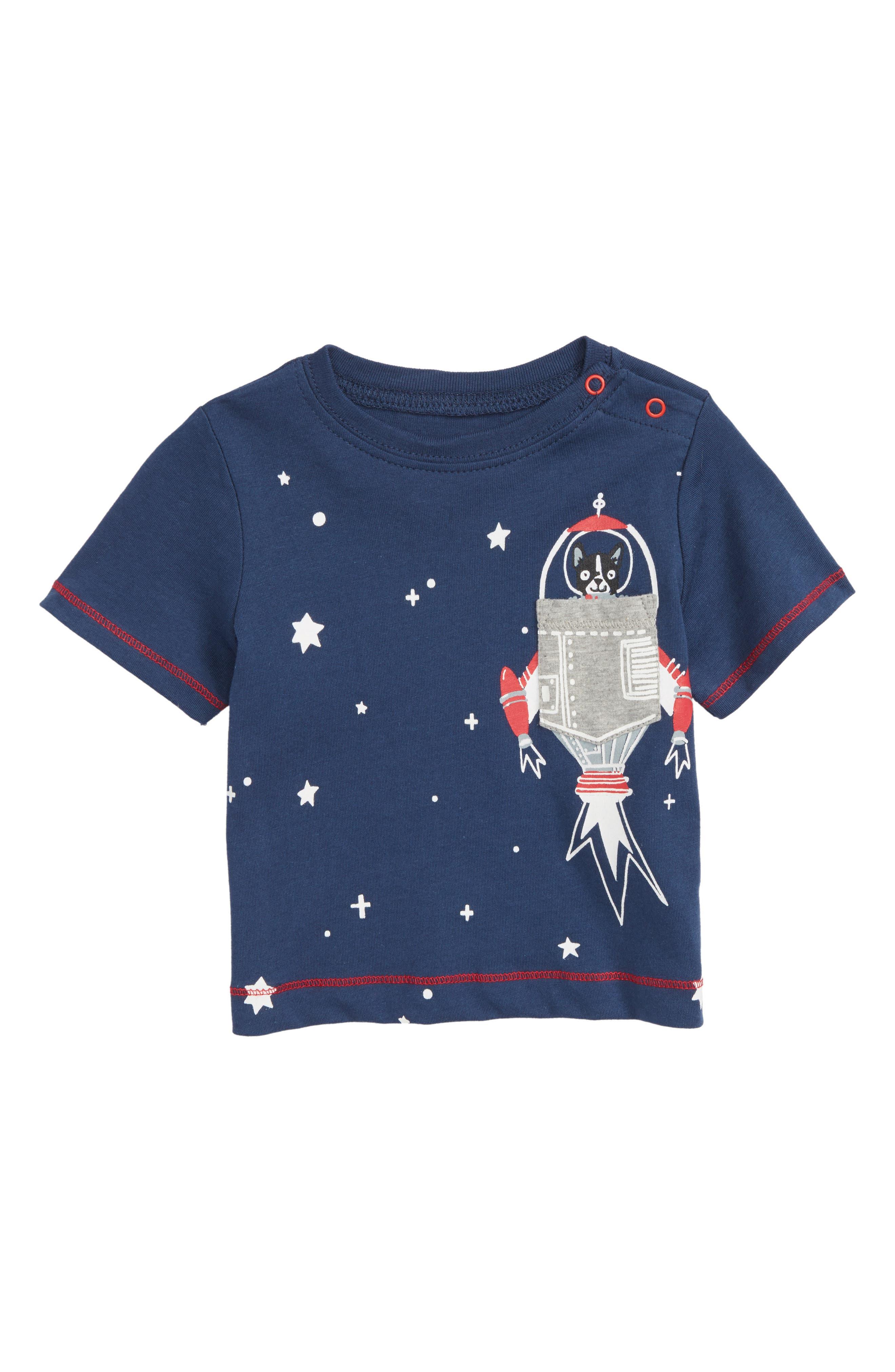 Graphic T-Shirt,                             Main thumbnail 1, color,                             Space Dog