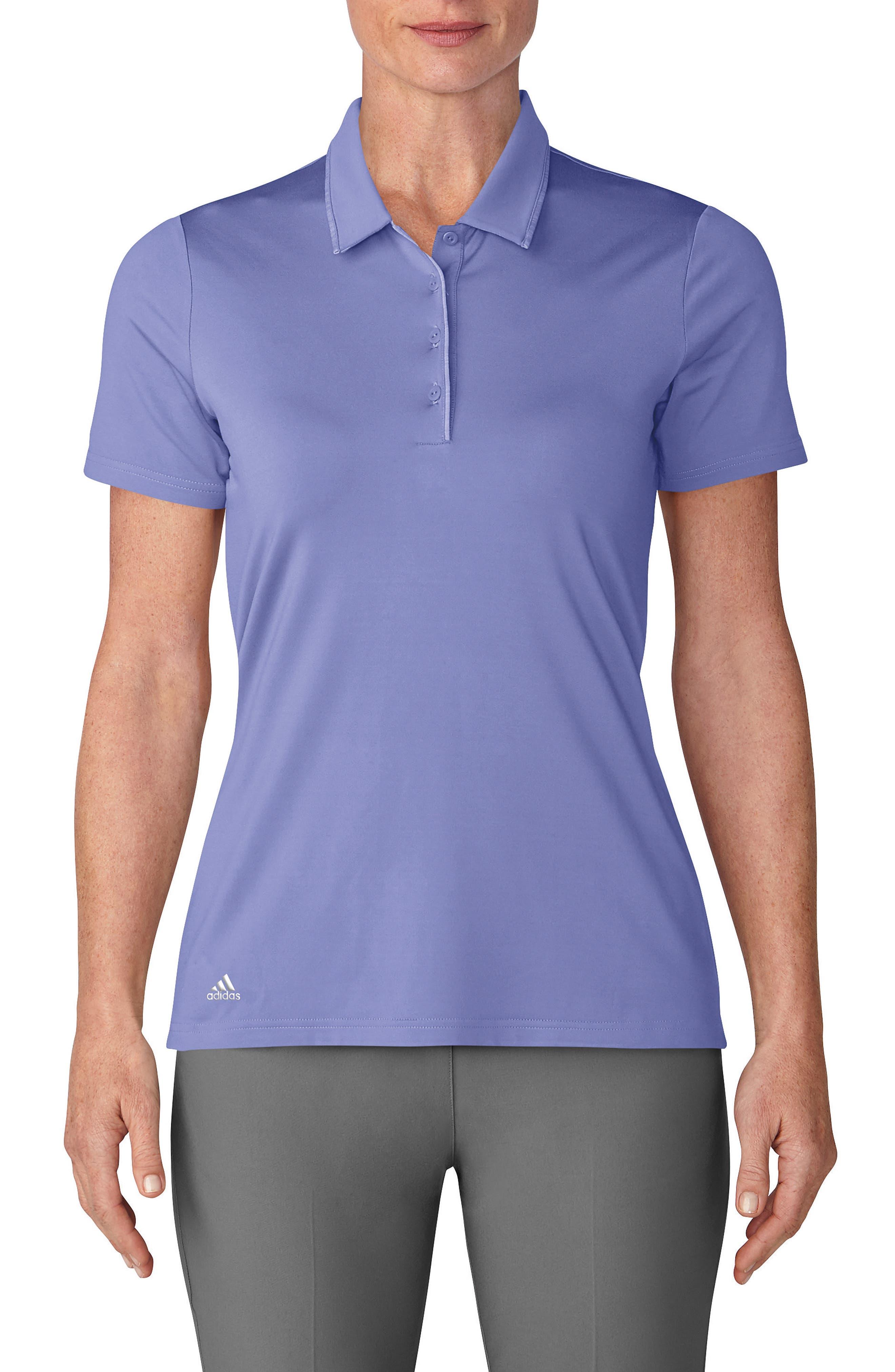 Essentials Ultimate 365 Polo,                         Main,                         color, Chalk Purple