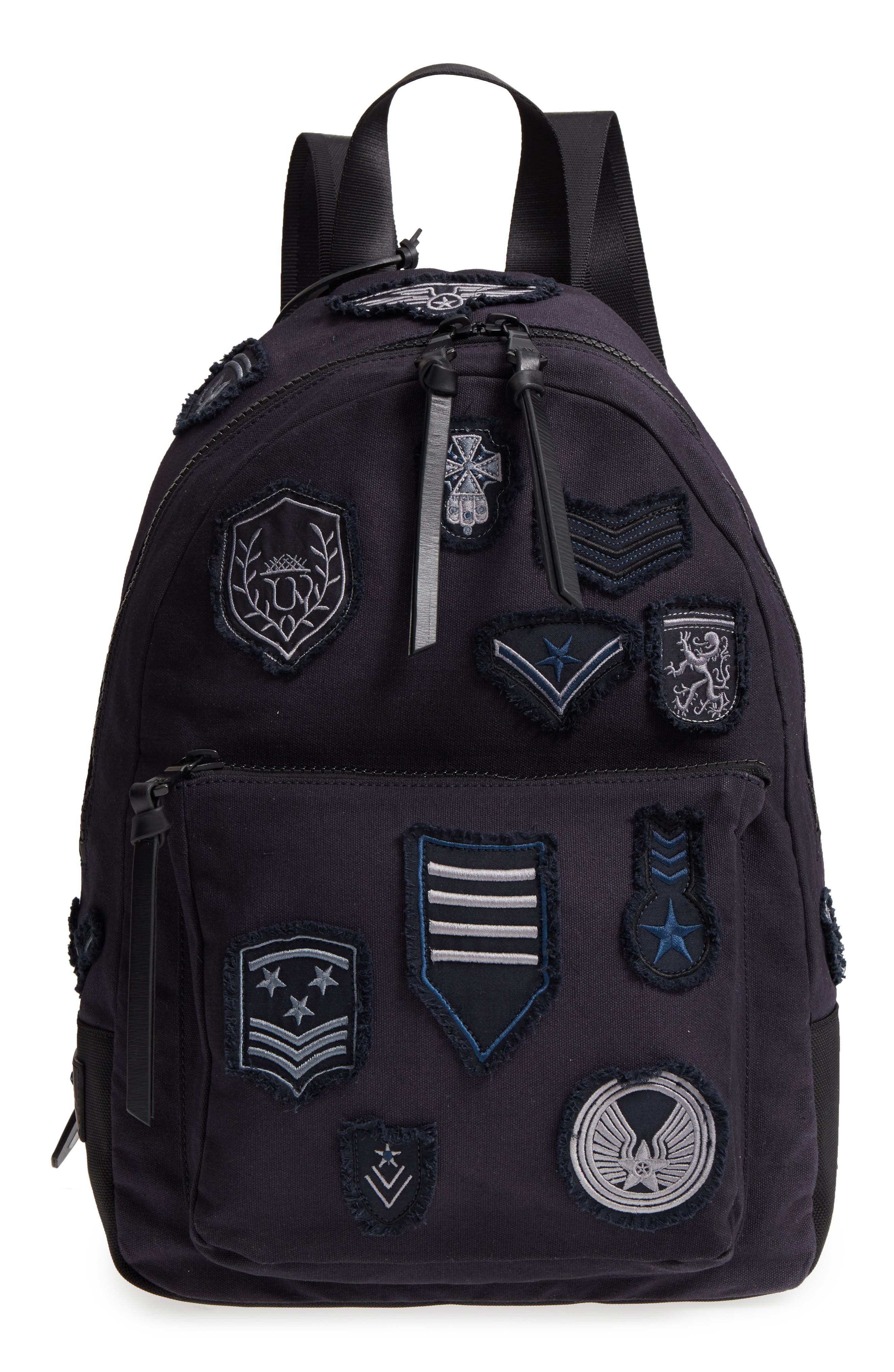 Gibson Patch Backpack,                         Main,                         color, Midnight