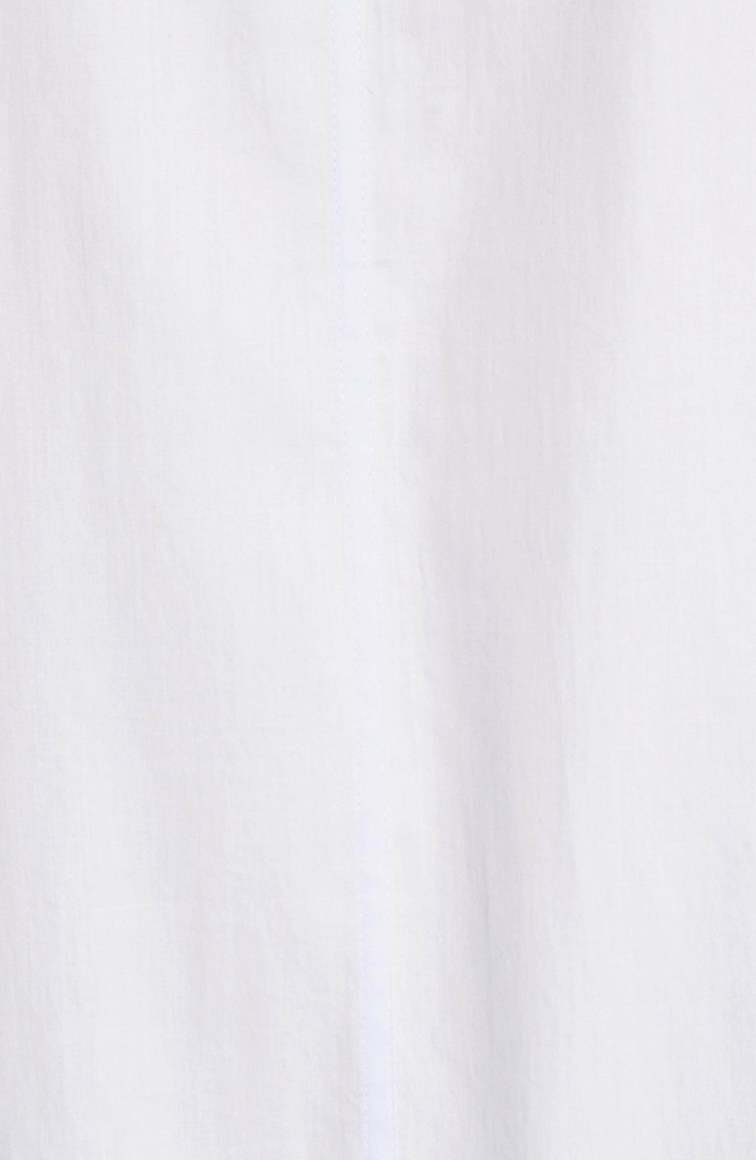 Alternate Image 5  - Rebecca Taylor Sleeveless Cotton Tank Dress
